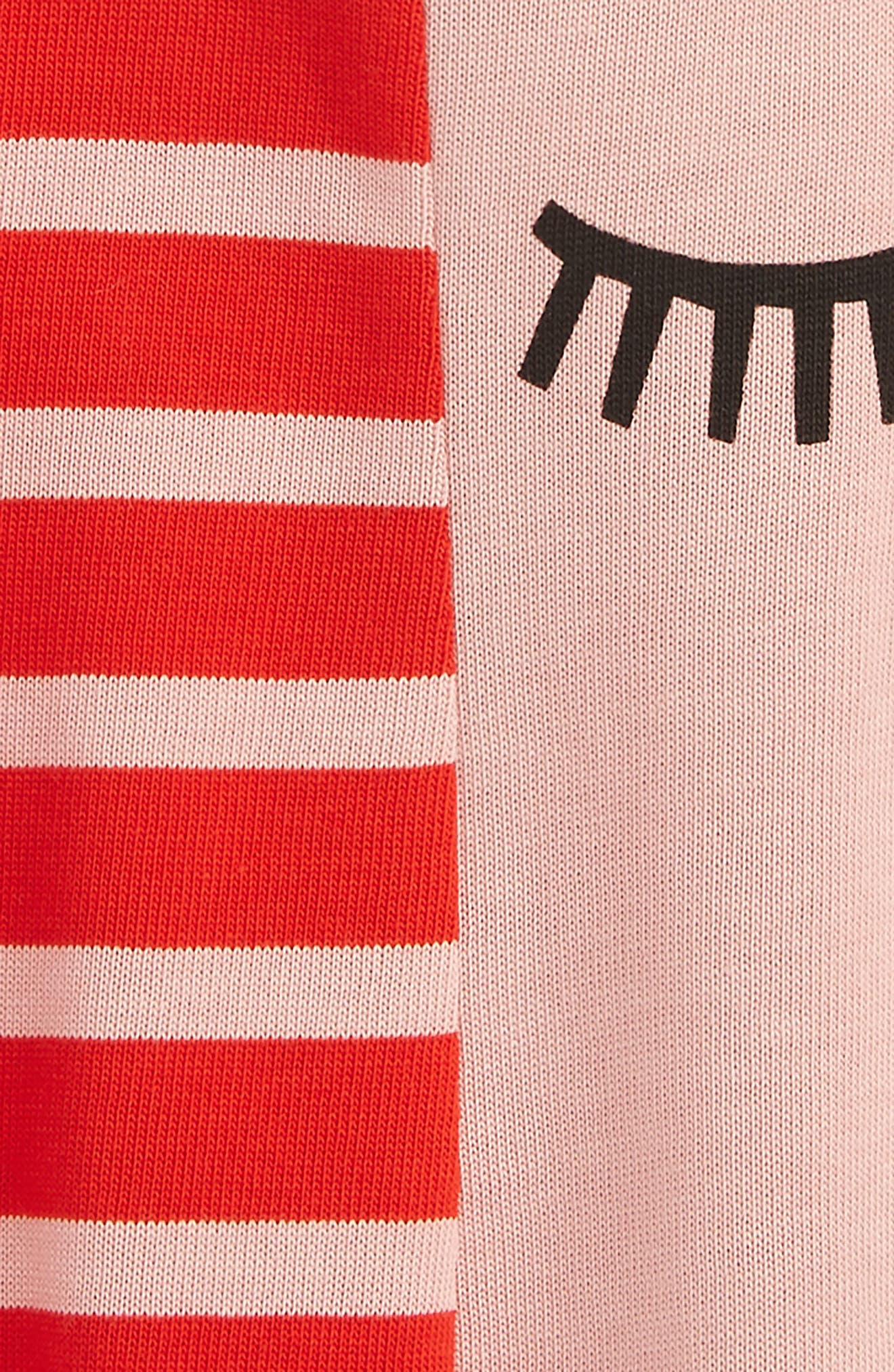 Kids Stripe Jersey Dress,                             Alternate thumbnail 2, color,                             650