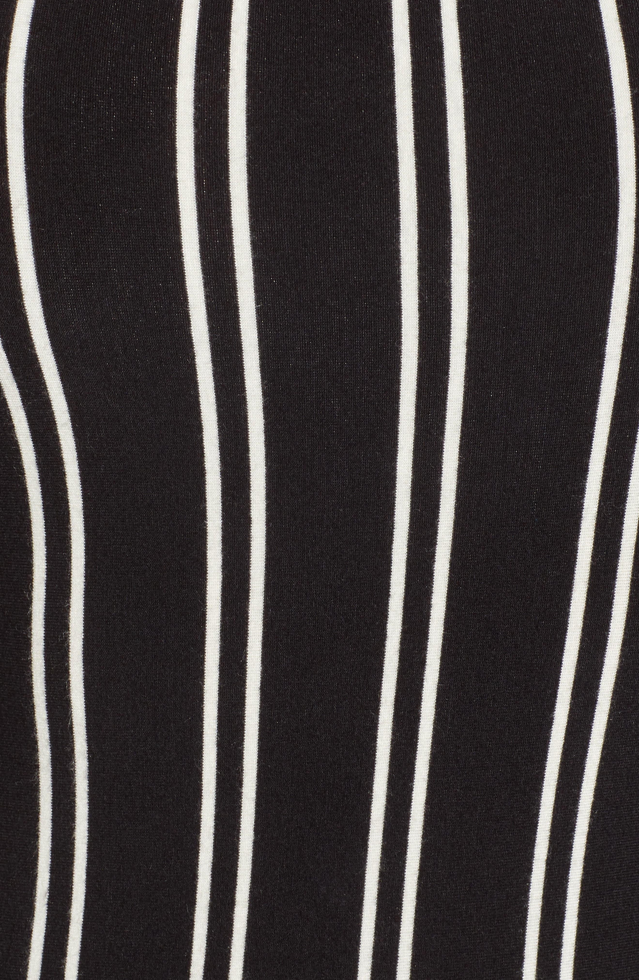Lockette Stripe Bodysuit,                             Alternate thumbnail 5, color,                             005