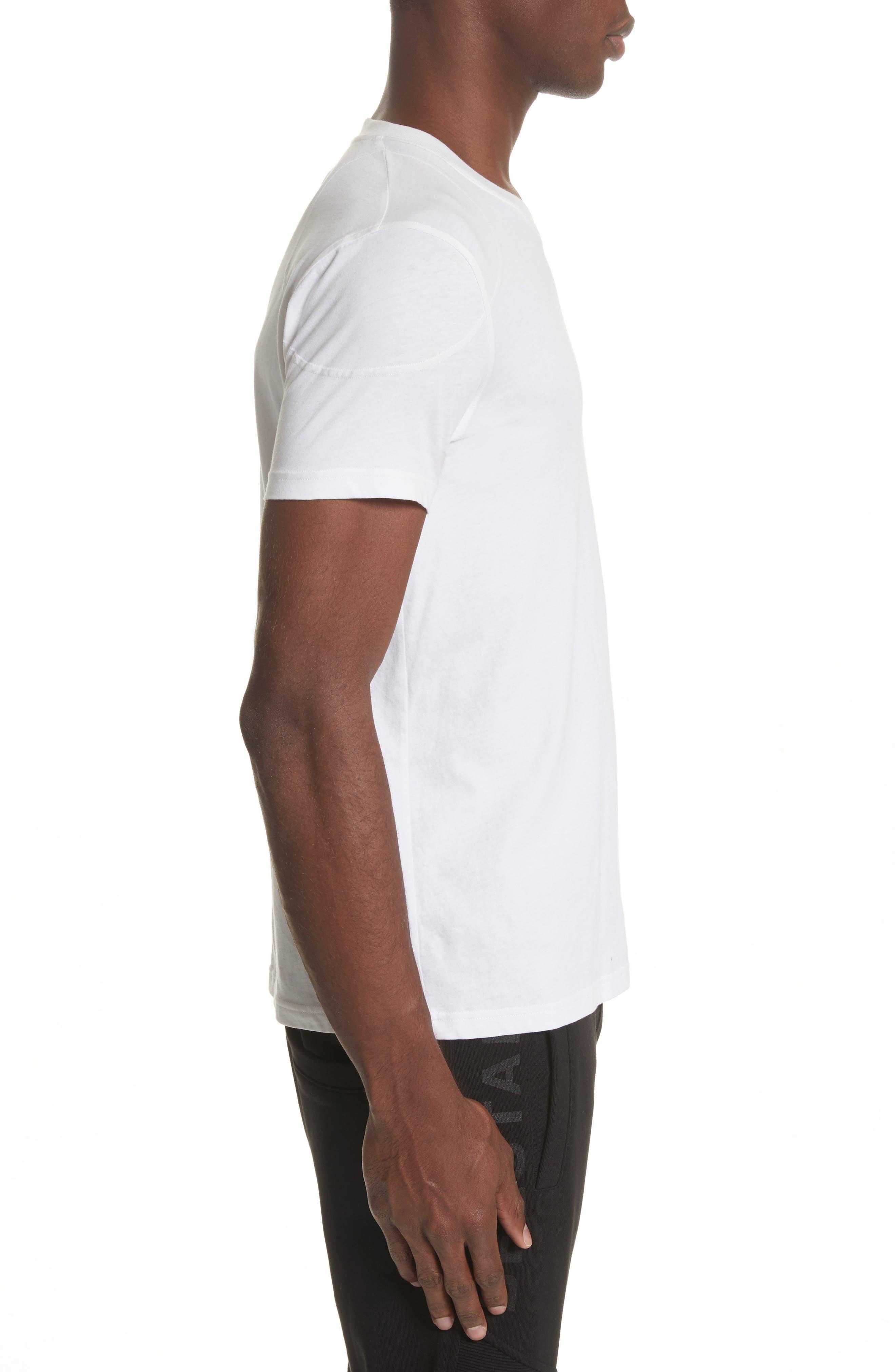 Throwley Logo T-Shirt,                             Alternate thumbnail 3, color,                             WHITE
