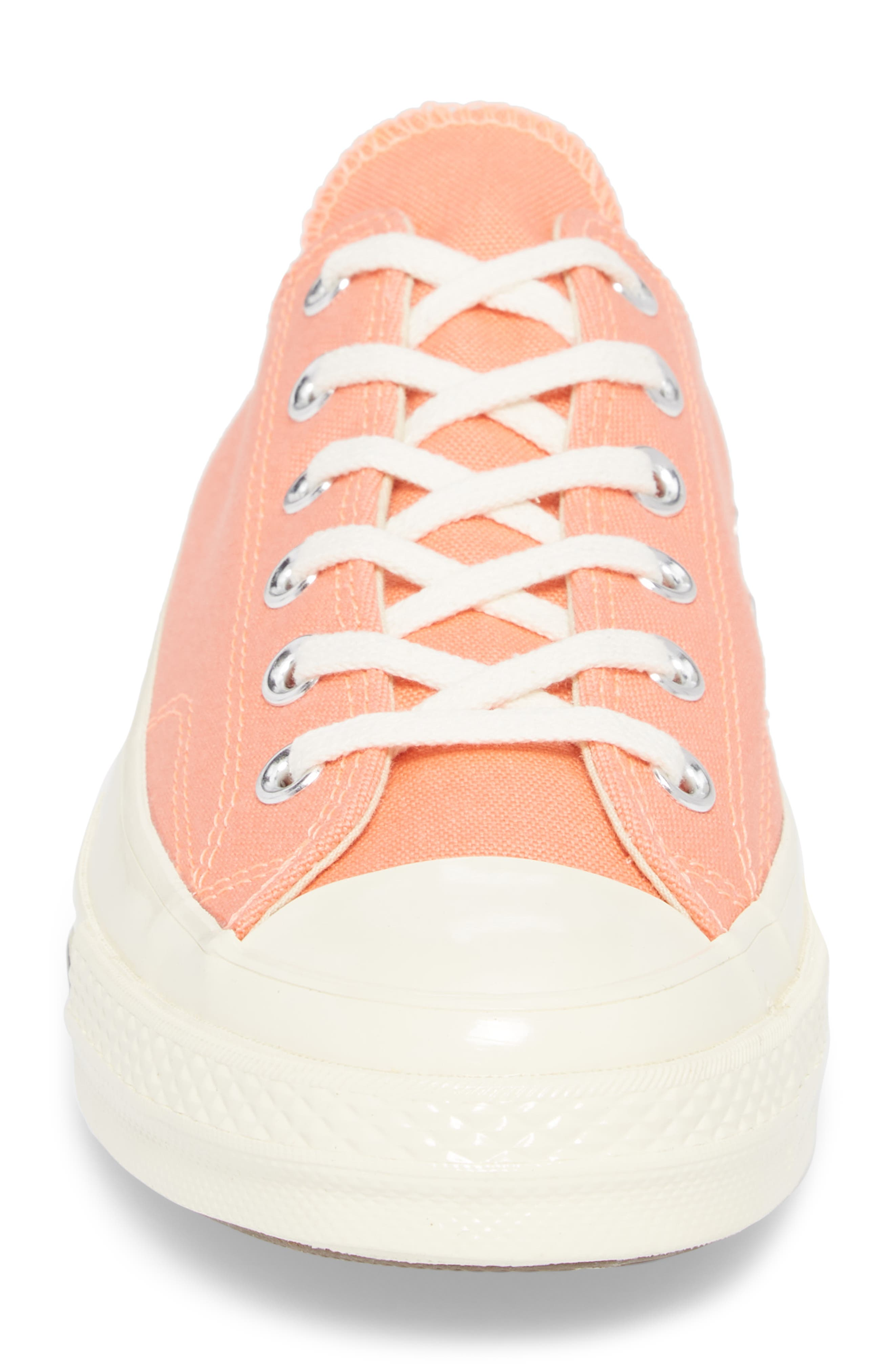 Chuck Taylor<sup>®</sup> All Star<sup>®</sup> 70 Bright Low Top Sneaker,                             Alternate thumbnail 4, color,                             CRIMSON PULSE