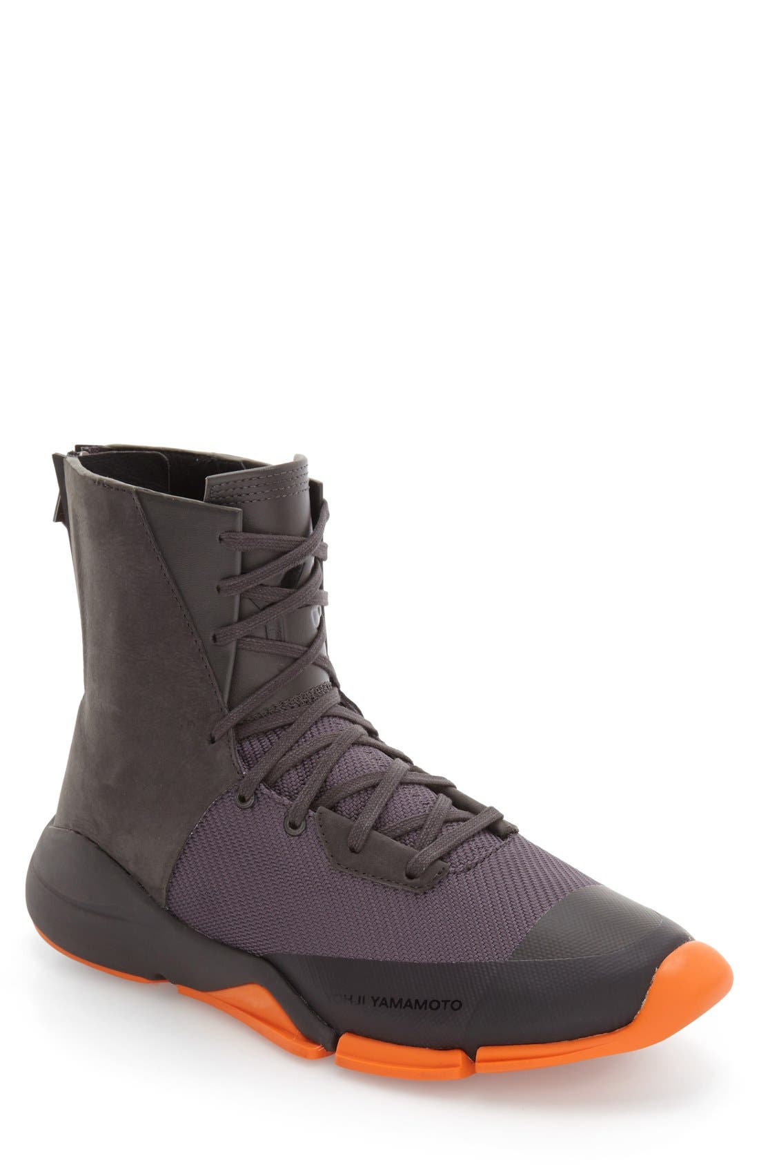 Future Zip High Top Sneaker,                             Main thumbnail 1, color,                             022