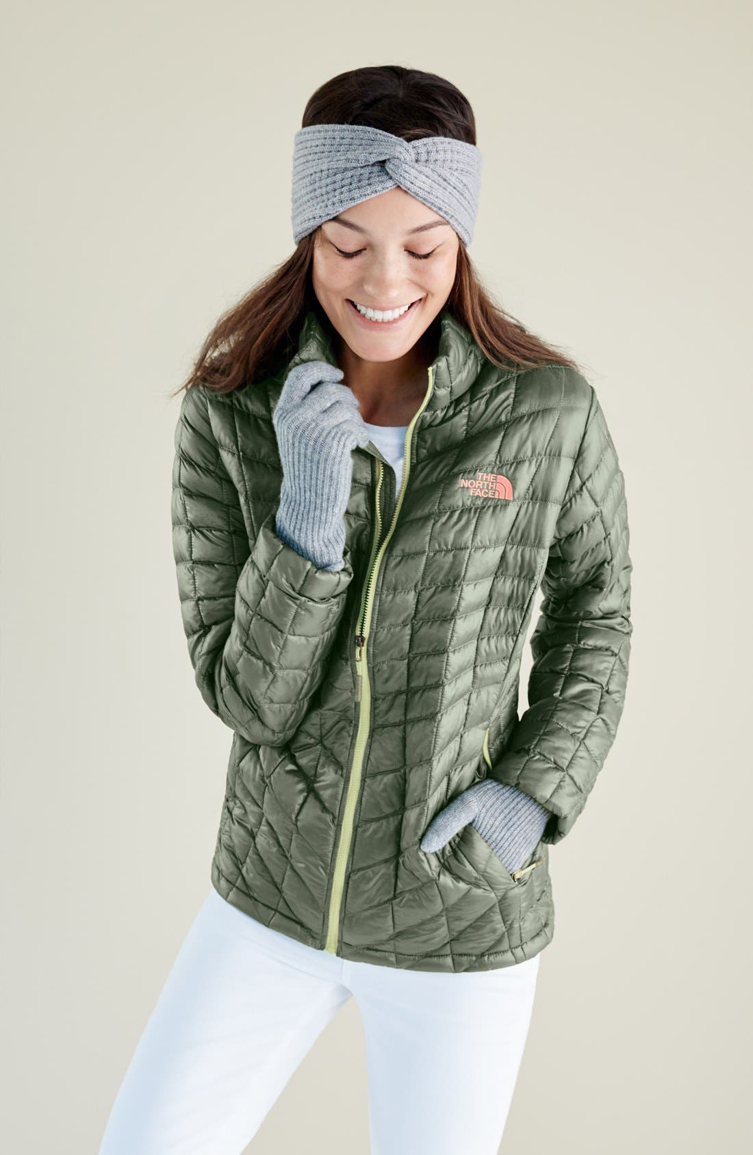 ThermoBall<sup>™</sup> Full Zip Jacket,                             Alternate thumbnail 8, color,                             URBAN NAVY MATTE