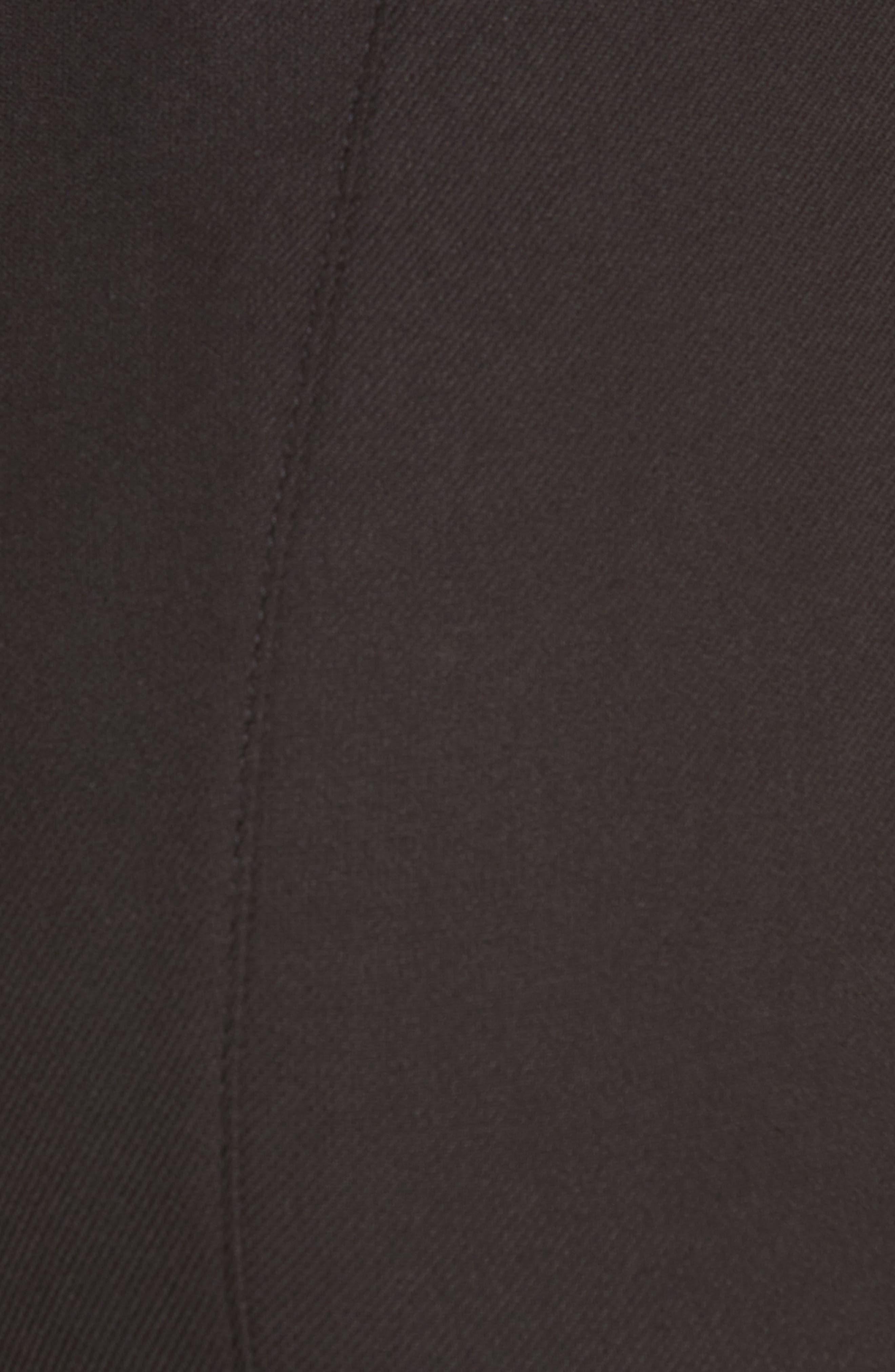 BOSS,                             Tileta Slim Leg Trousers,                             Alternate thumbnail 5, color,                             001