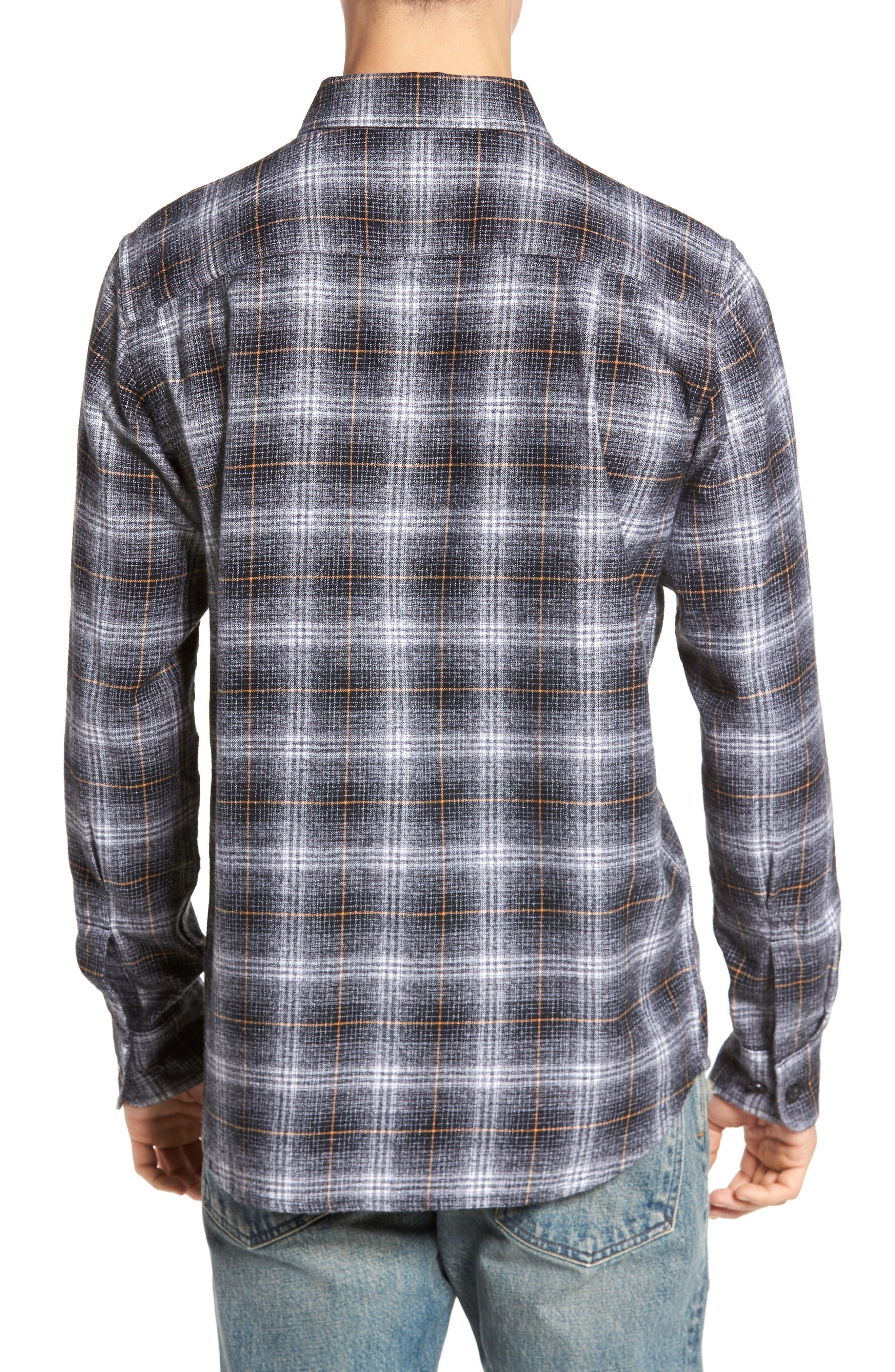 Shriner Flannel Shirt,                             Alternate thumbnail 2, color,                             002