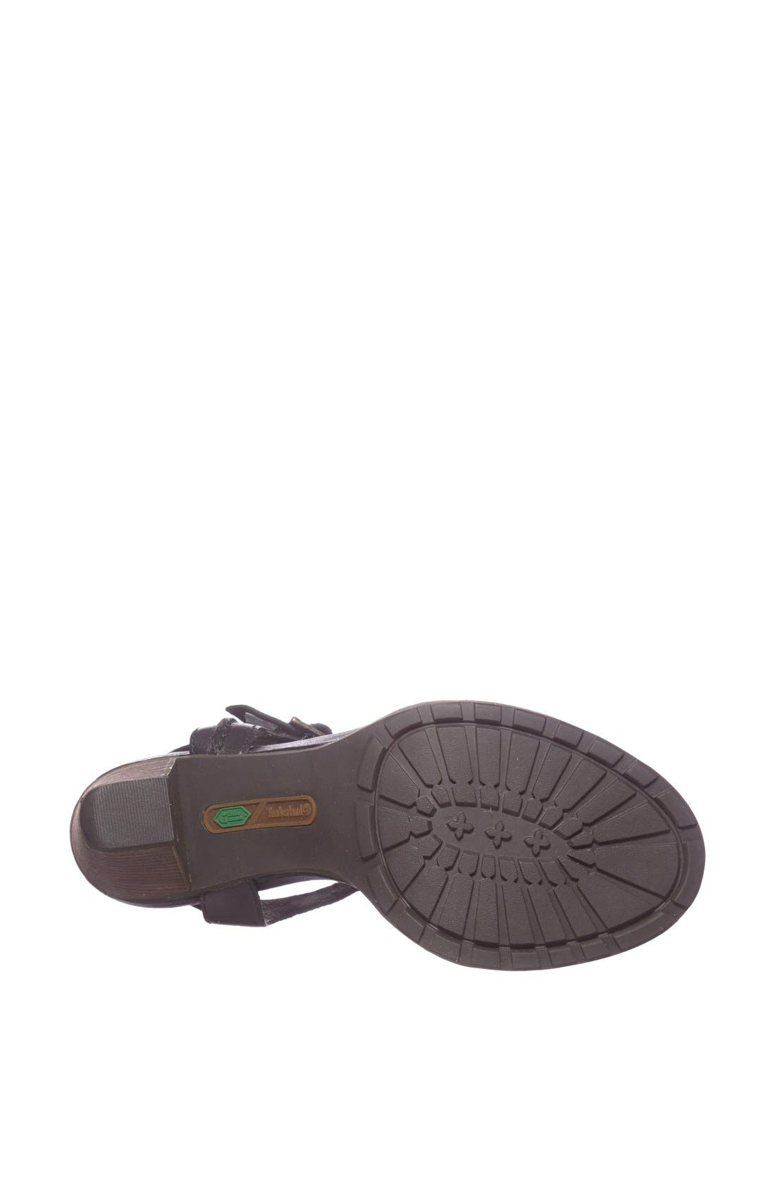 Earthkeepers<sup>®</sup> 'Stratham Heights' Sandal,                             Alternate thumbnail 3, color,                             001