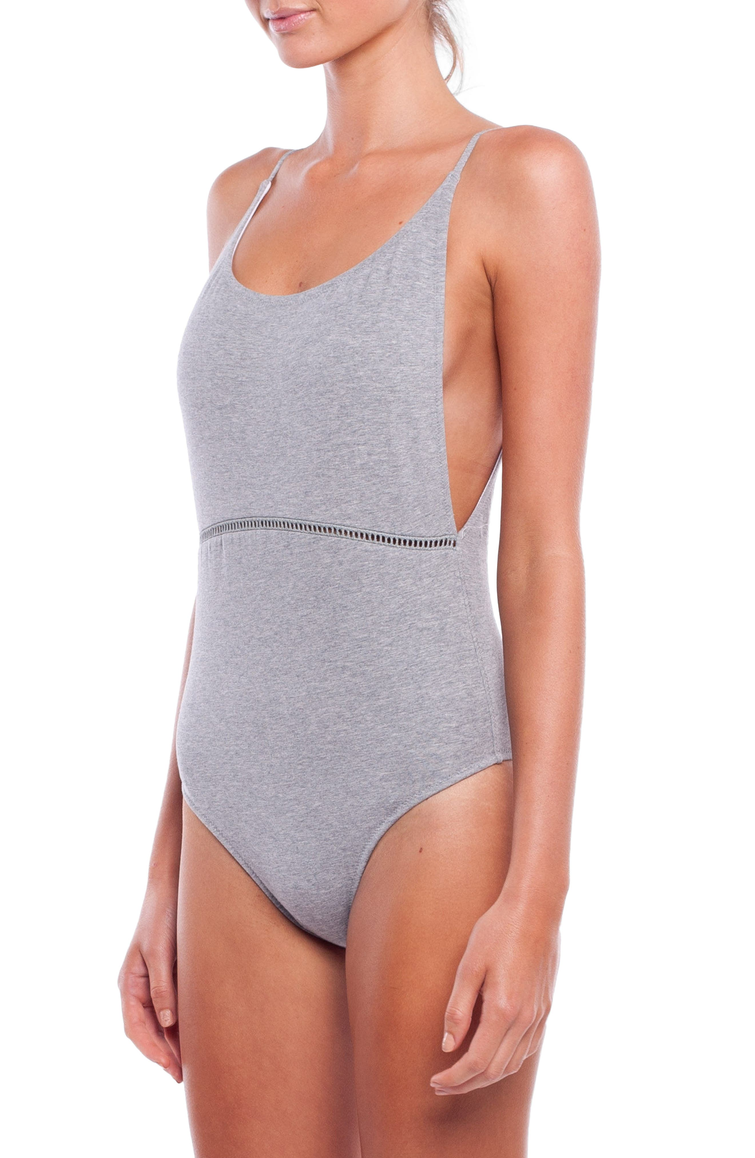 My Scoop One-Piece Swimsuit,                             Alternate thumbnail 3, color,                             020