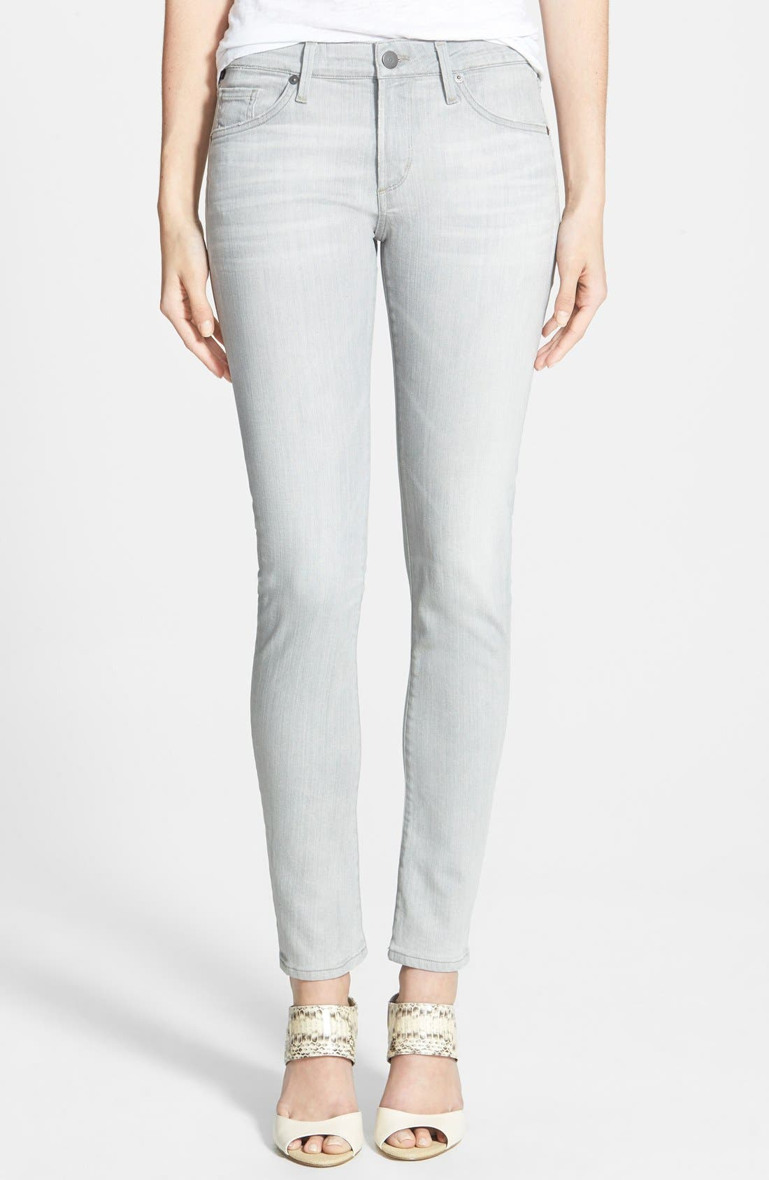 'Arielle' Skinny Jeans,                             Main thumbnail 1, color,                             020