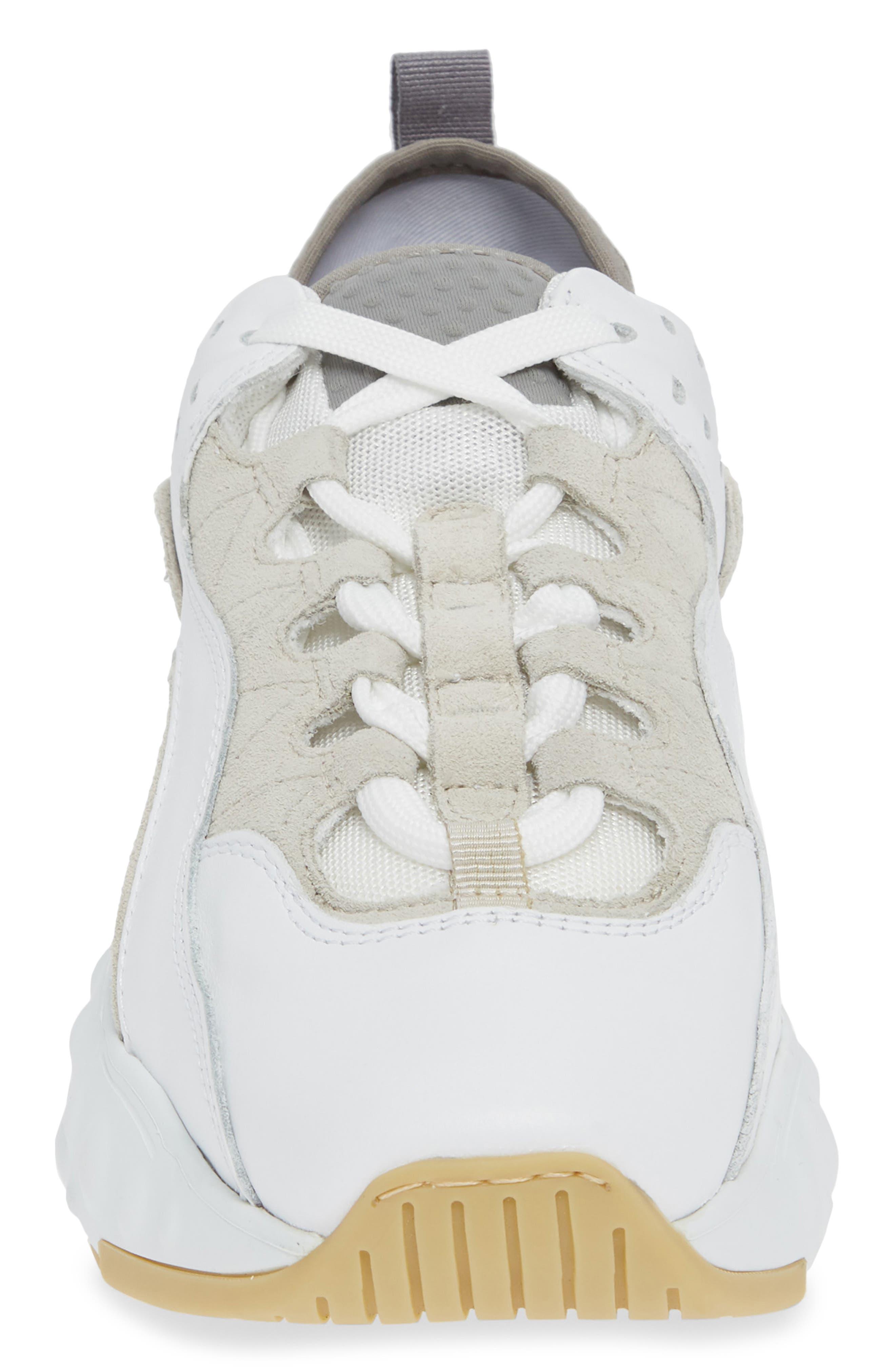Manhattan Sneaker,                             Alternate thumbnail 4, color,                             WHITE/WHITE