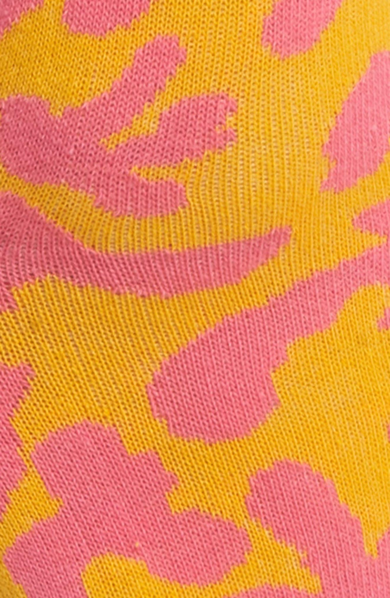 Coral Will Bryant Crew Socks,                             Alternate thumbnail 4, color,                             820