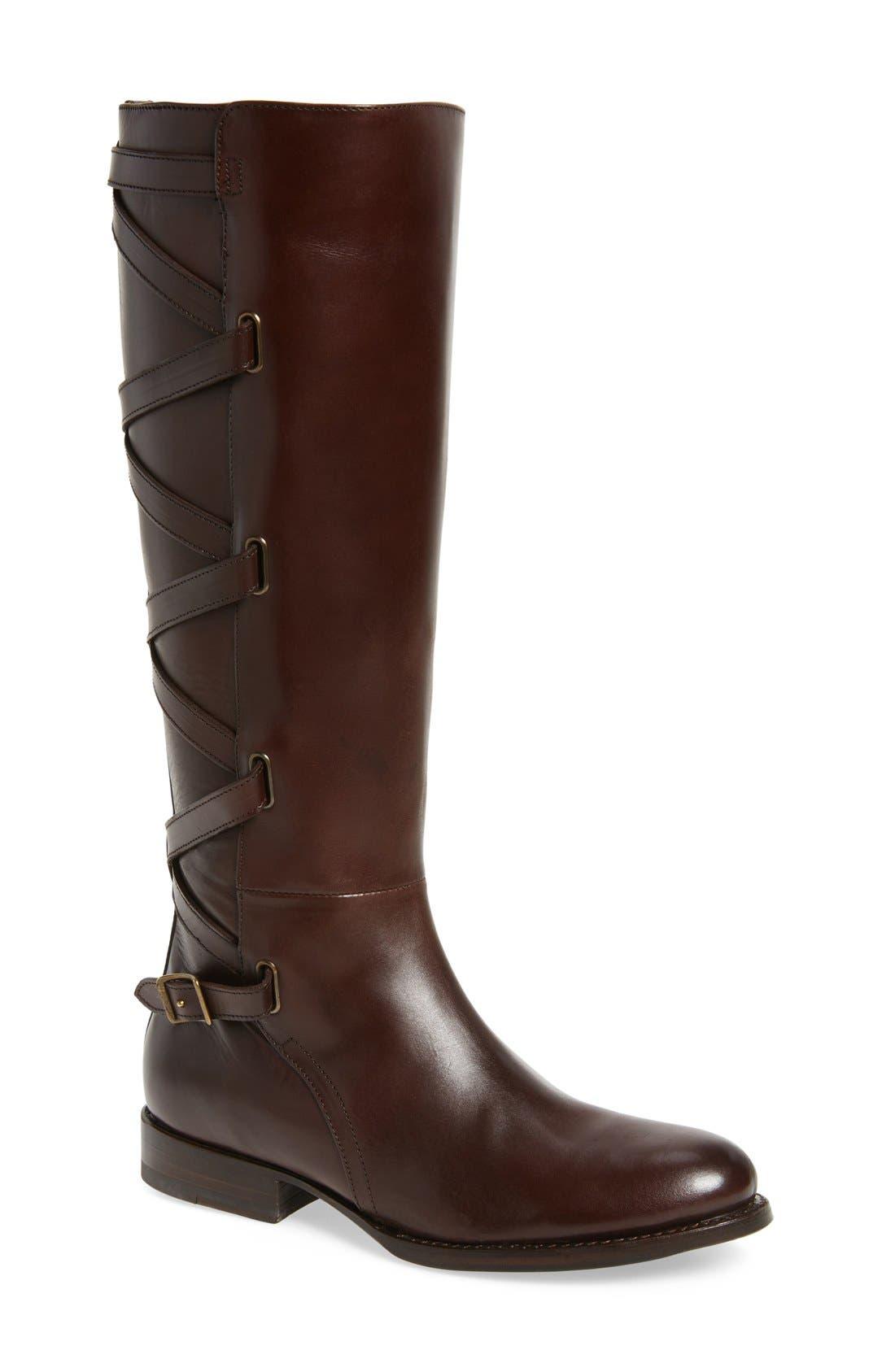 Jordan Strappy Knee High Boot,                             Main thumbnail 2, color,