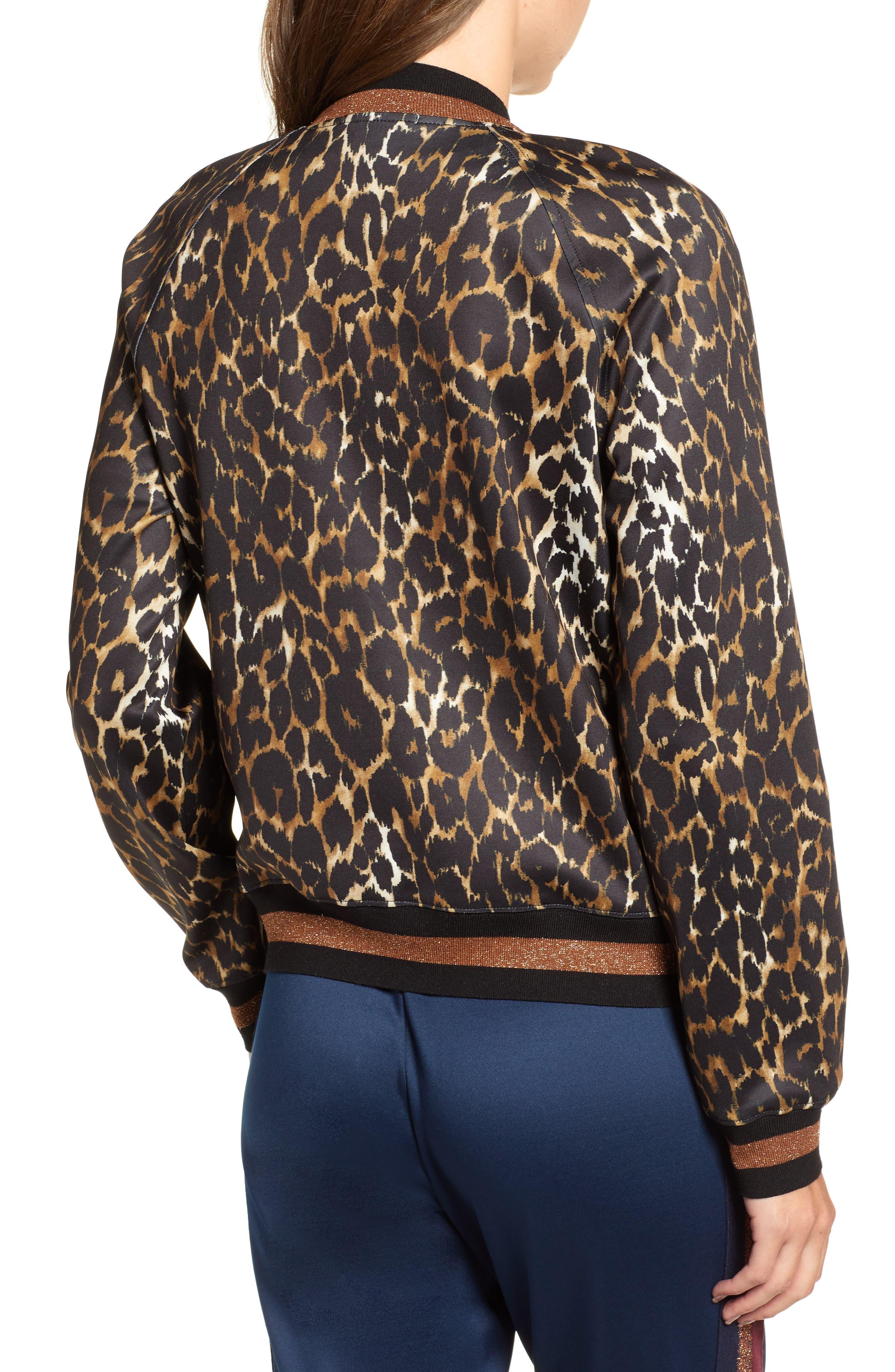 Leopard Track Jacket,                             Alternate thumbnail 2, color,                             234