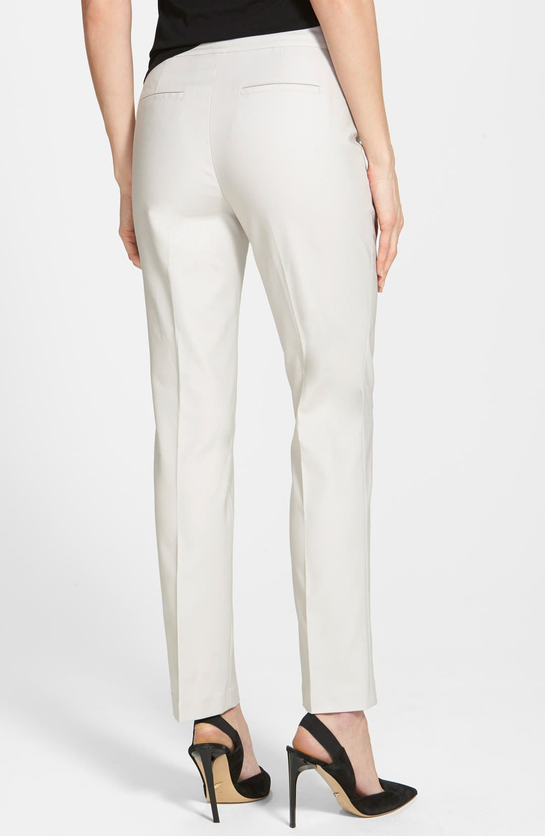 The Perfect Ankle Pants,                             Alternate thumbnail 3, color,                             POWDER