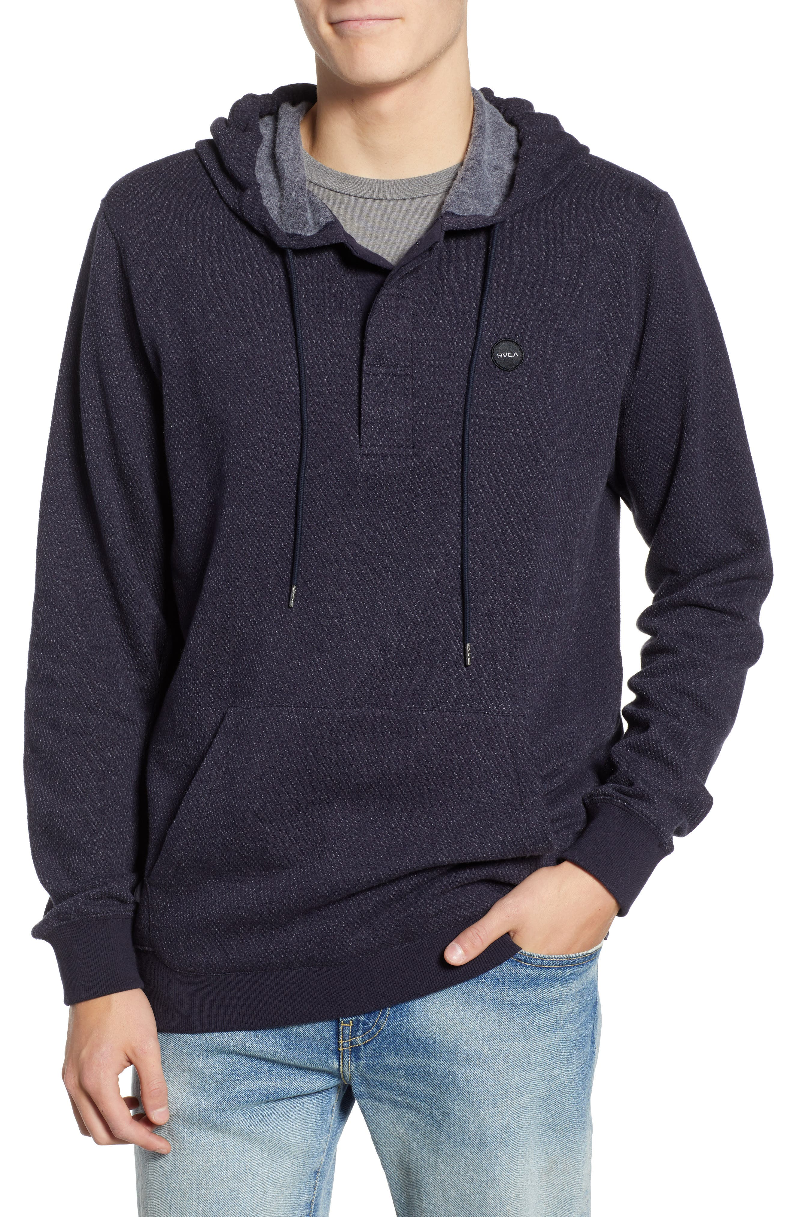Lupo Pullover Hoodie,                         Main,                         color, NEW NAVY