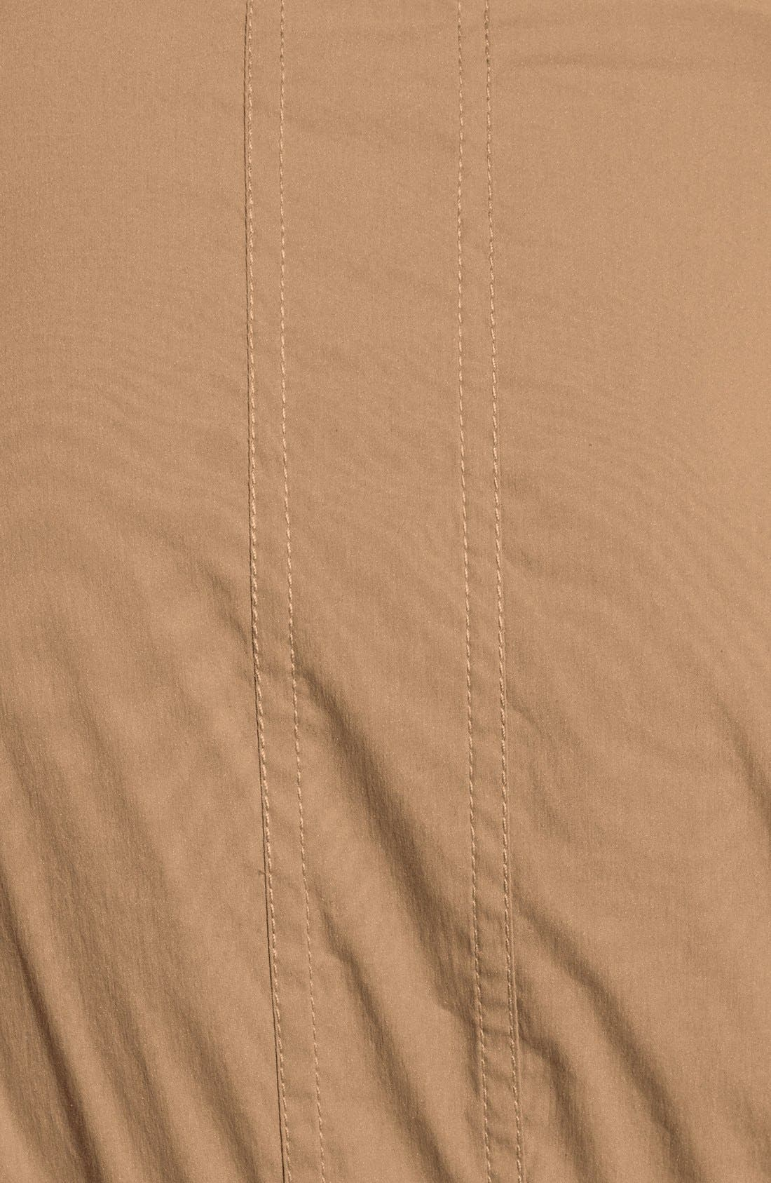 'Kaley' Pleated Cotton Blend Wrap Dress,                             Alternate thumbnail 3, color,                             250