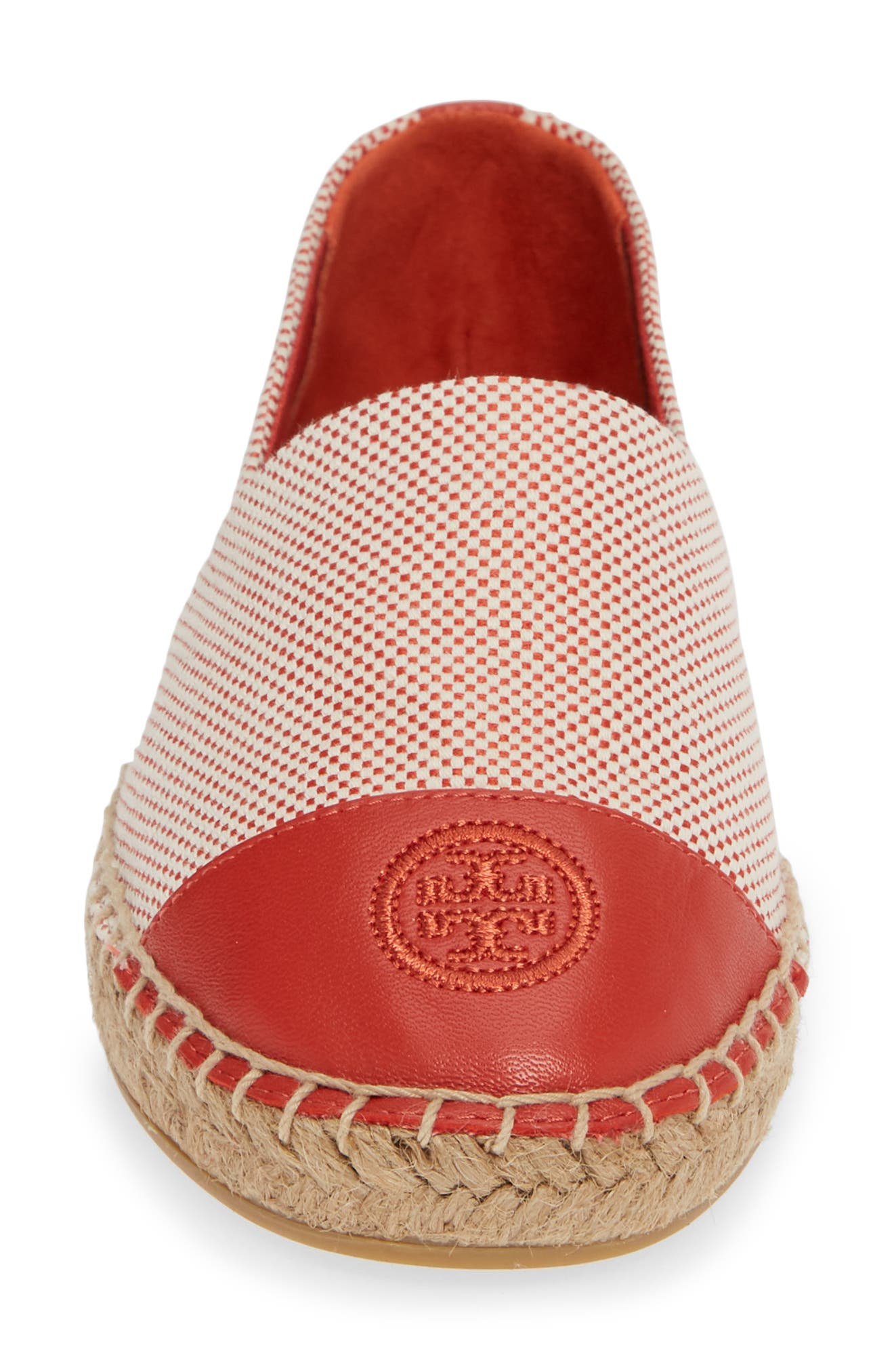 Colorblock Espadrille Flat,                             Alternate thumbnail 4, color,                             803