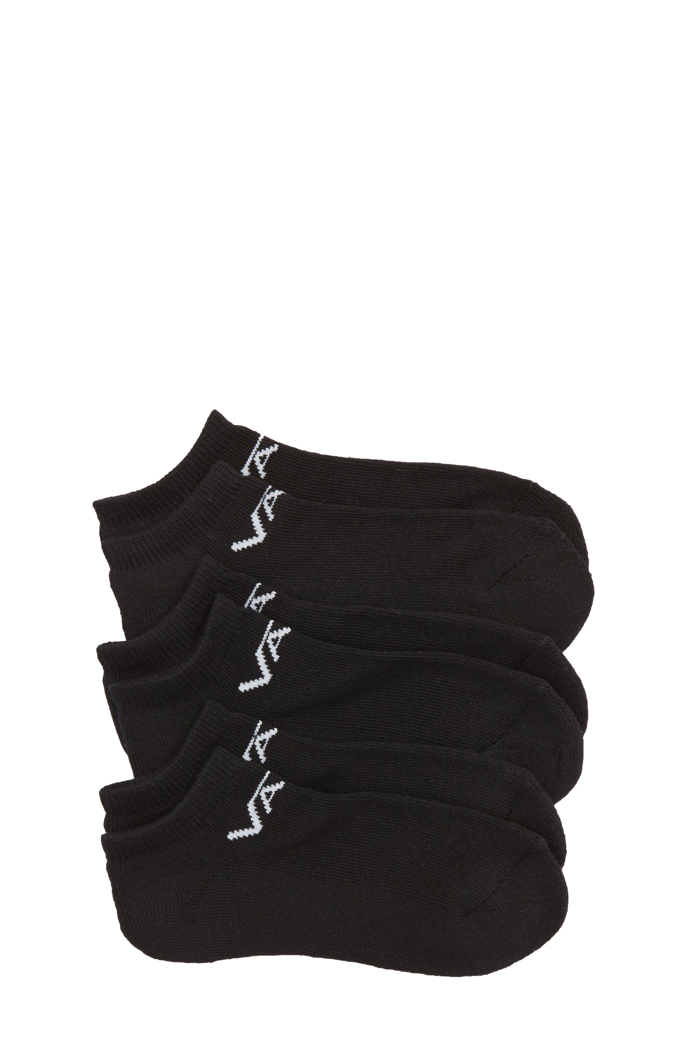 Classic Kick 3-Pack No-Show Socks,                         Main,                         color,