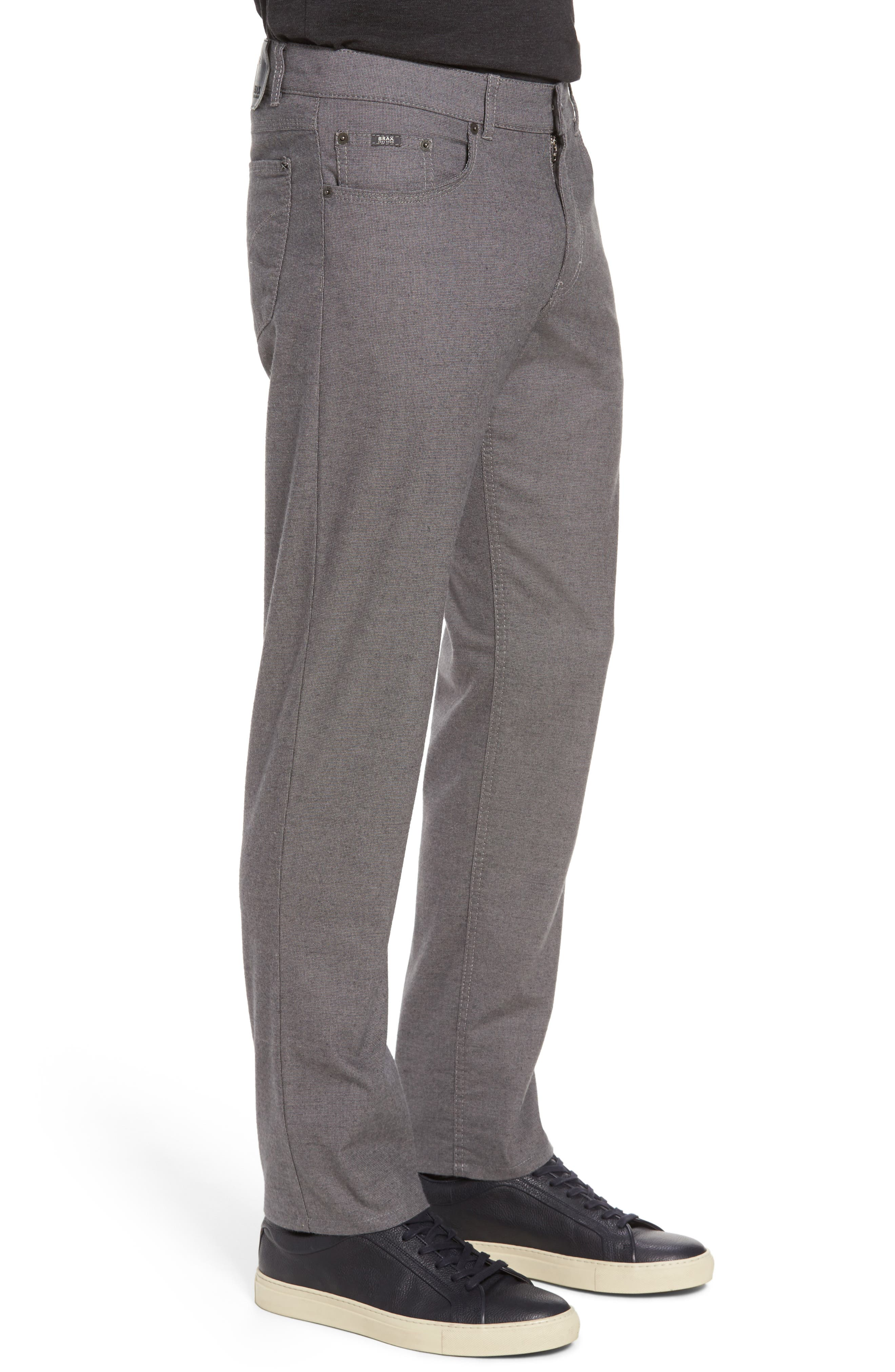 Five-Pocket Stretch Cotton Trousers,                             Alternate thumbnail 13, color,