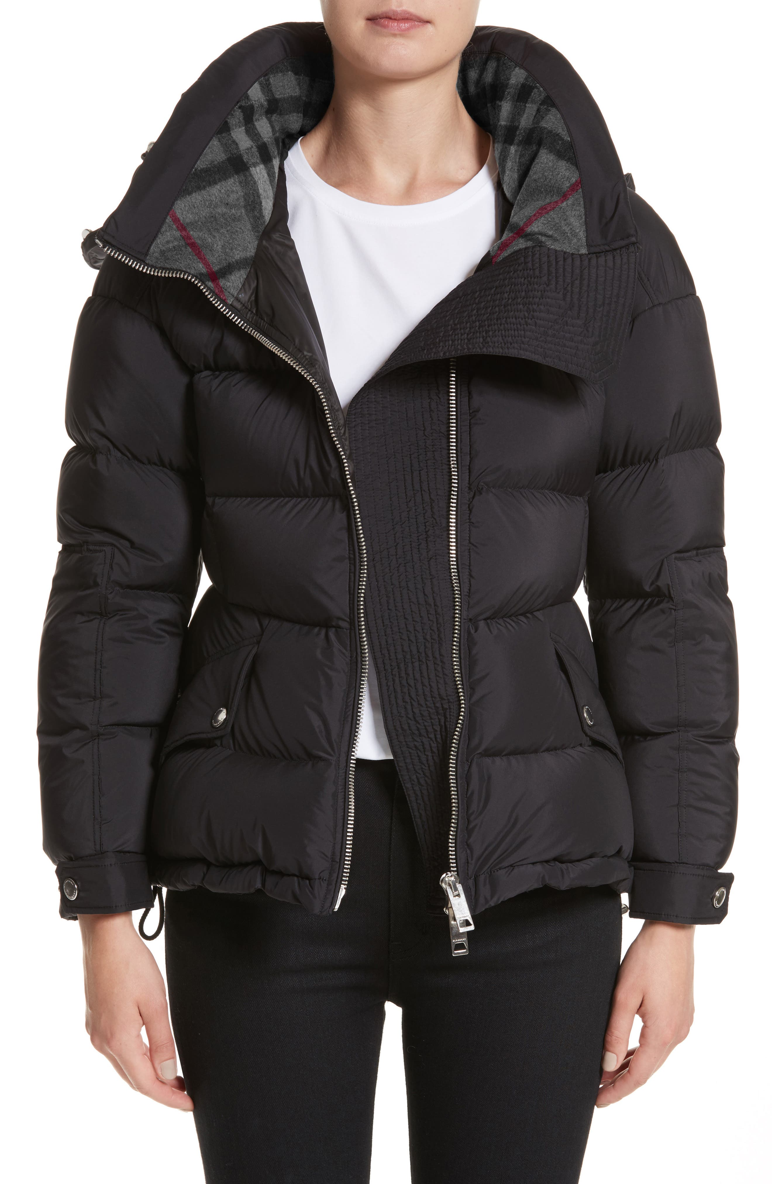 Fleetwood Hooded Down Puffer Jacket,                         Main,                         color, 001