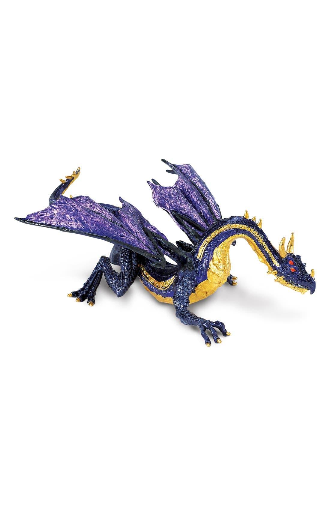 SAFARI LTD. Midnight Moon Dragon Figurine, Main, color, 999