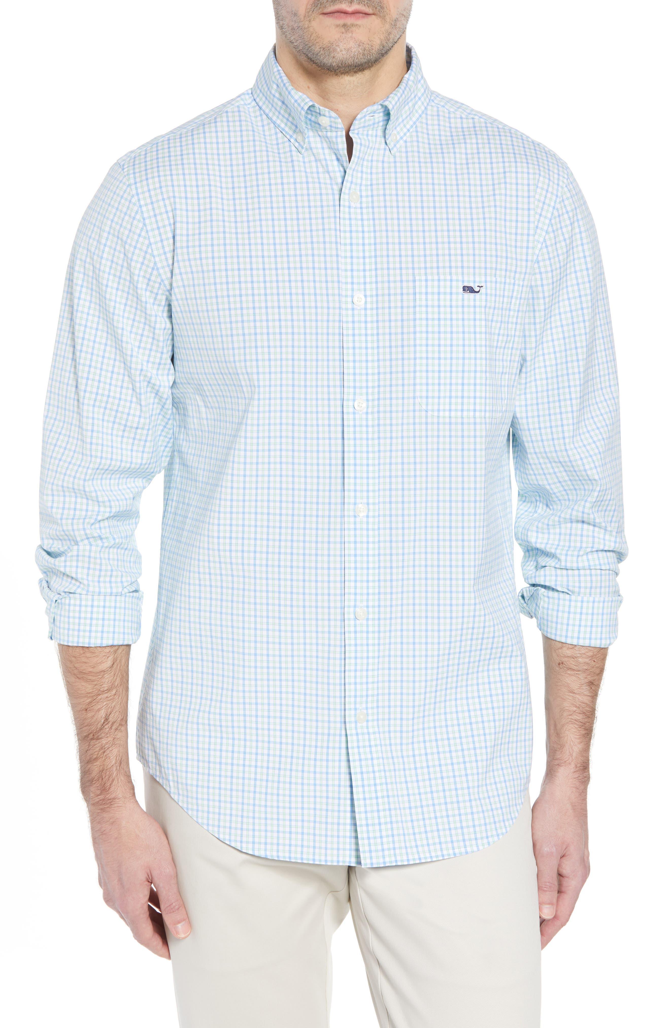 Clark Cove Tucker Classic Fit Check Sport Shirt,                             Main thumbnail 1, color,                             305