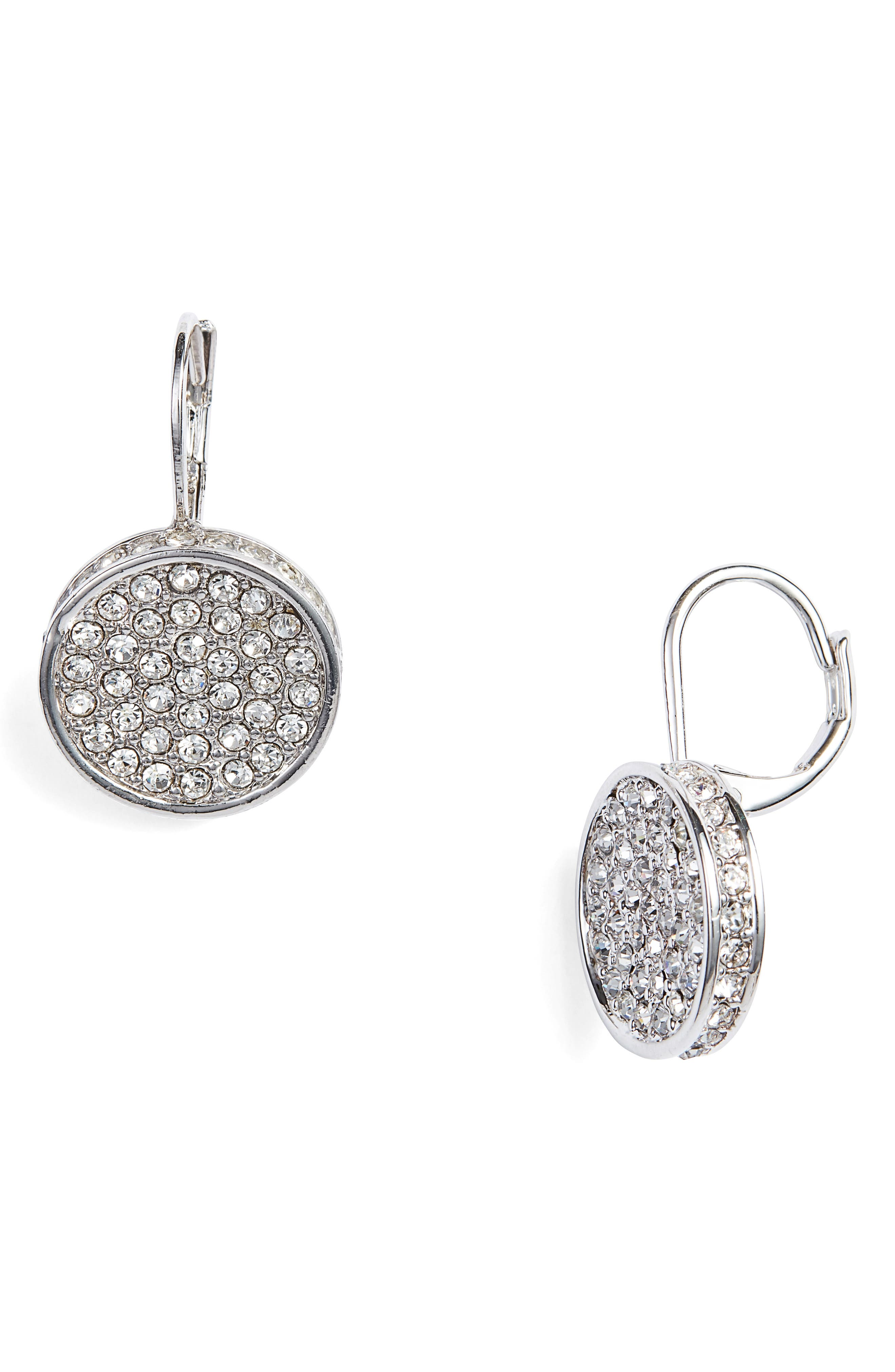Crystal Glitter Earrings,                             Main thumbnail 1, color,                             041