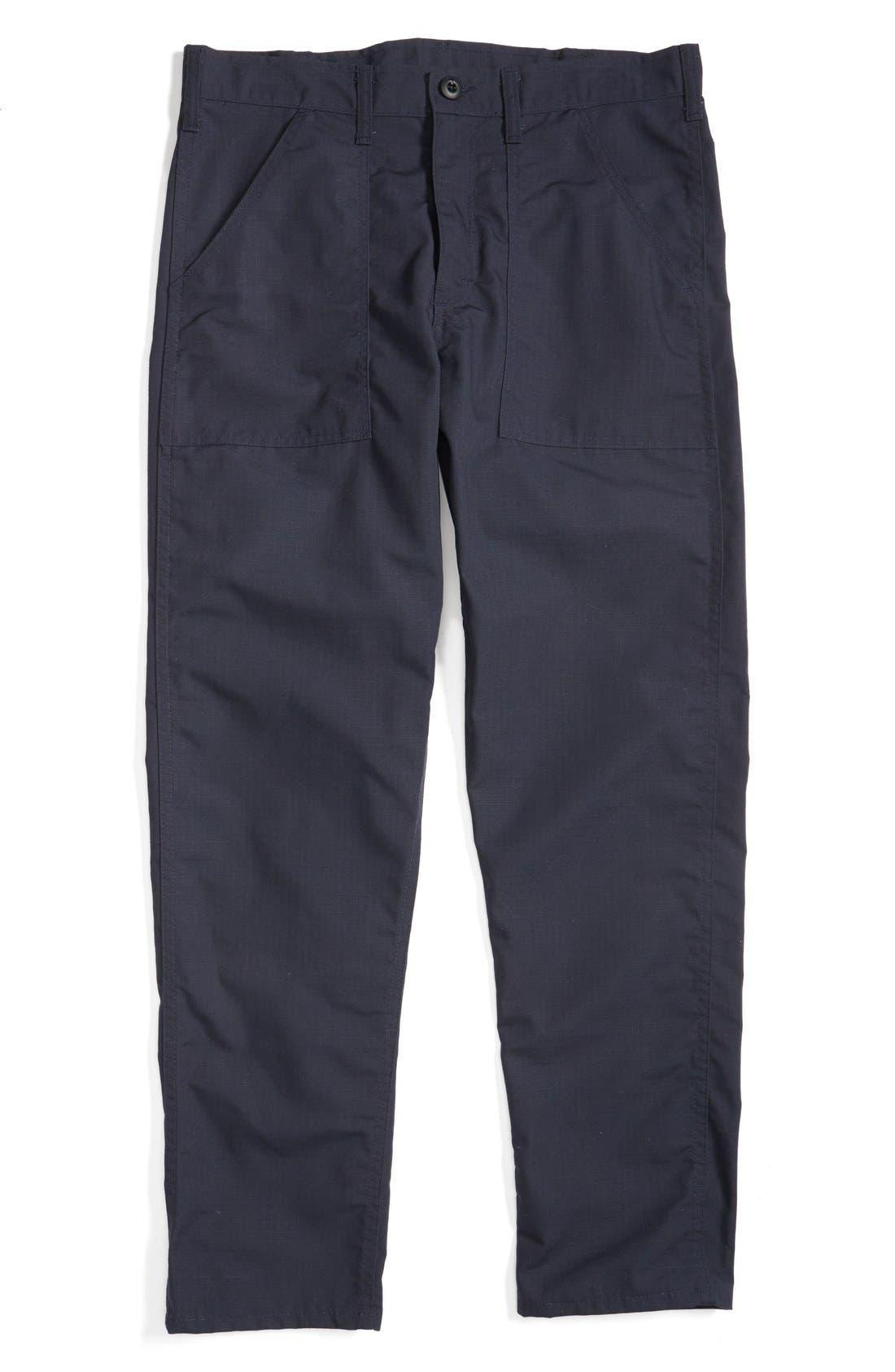 Slim Fit Four Pocket Fatigue Pants,                             Alternate thumbnail 4, color,                             410