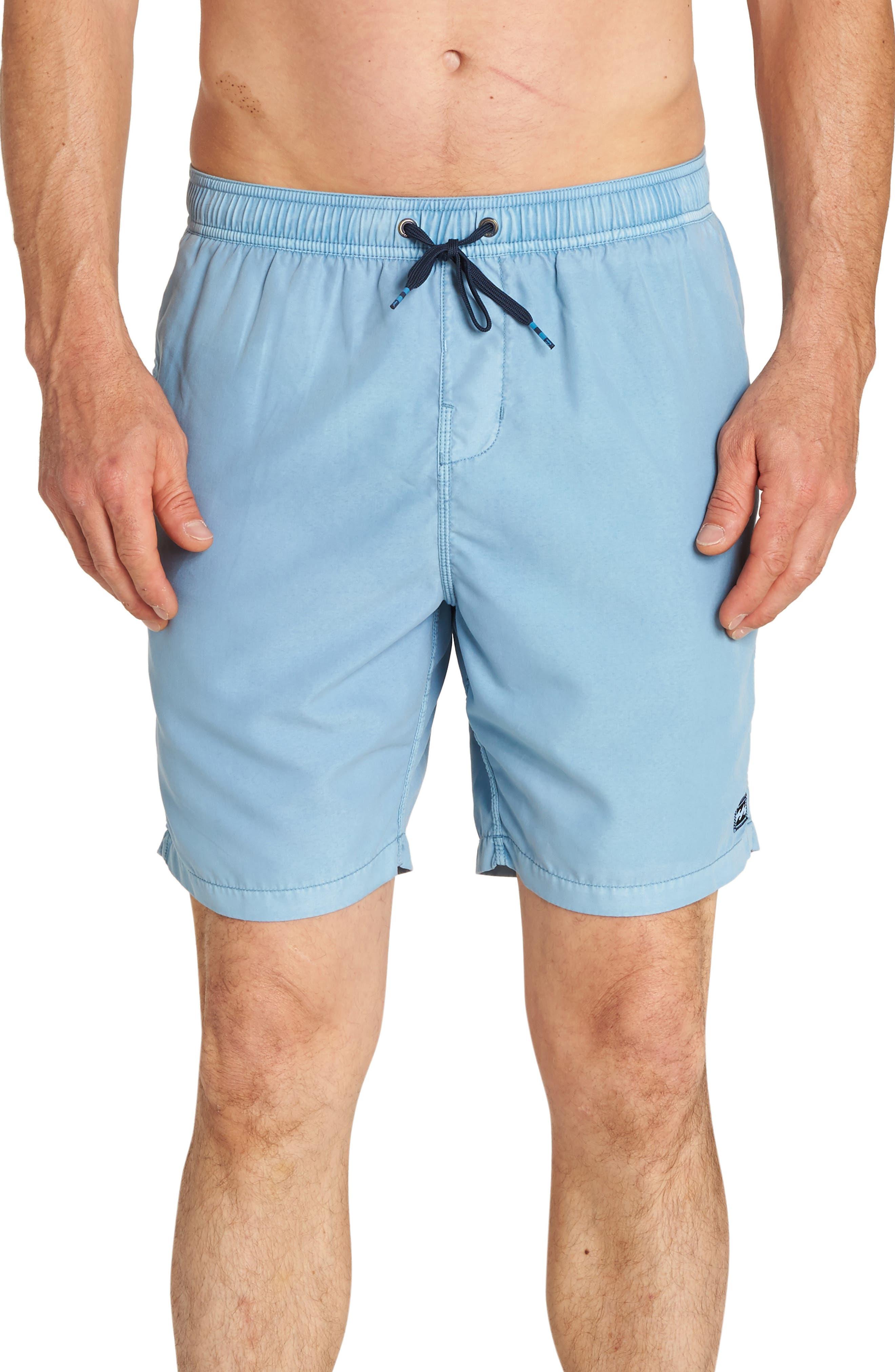All Day Layback Board Shorts,                             Main thumbnail 1, color,                             BLUE