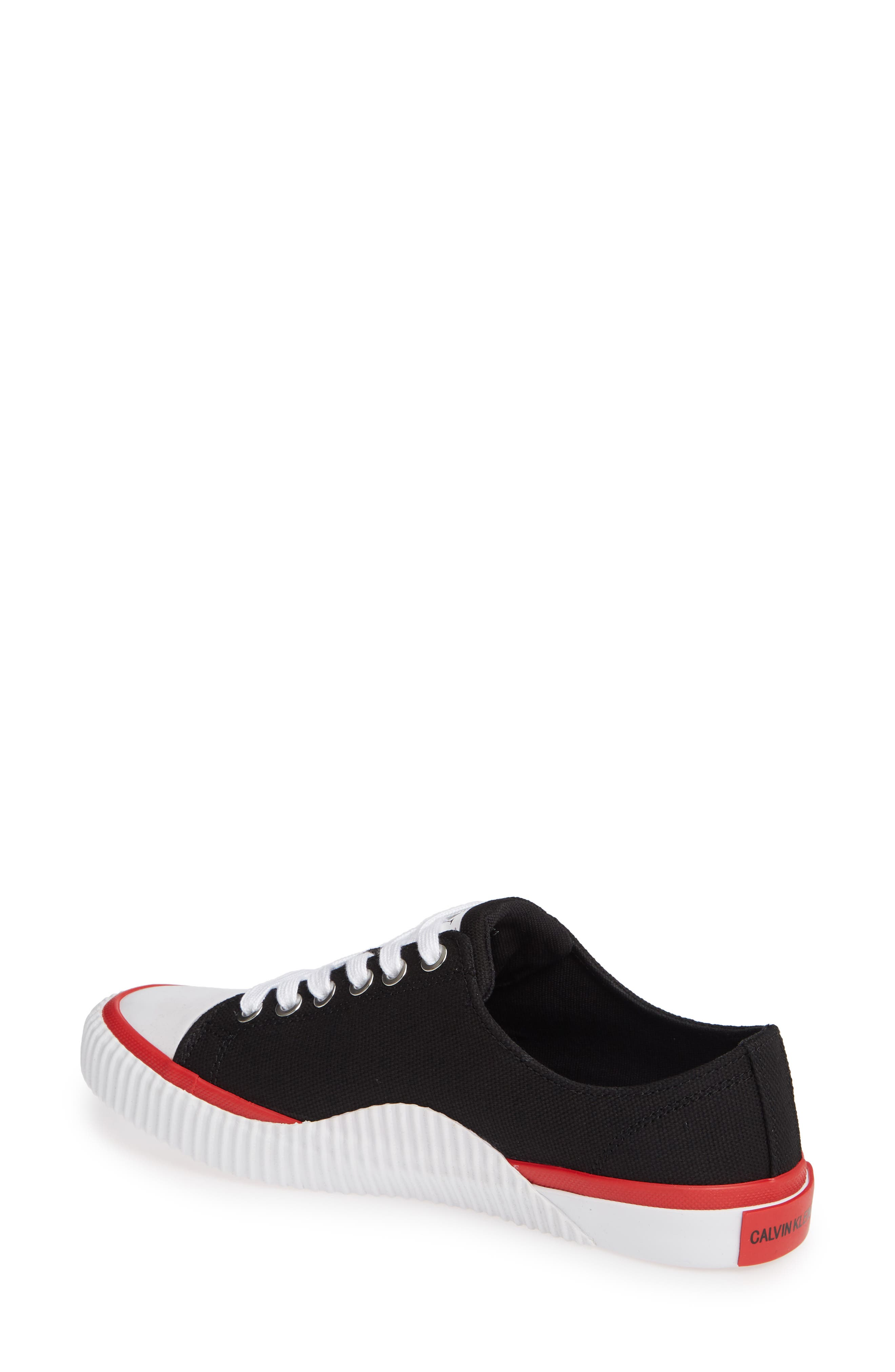 Ivory Lace-Up Sneaker,                             Alternate thumbnail 2, color,                             001