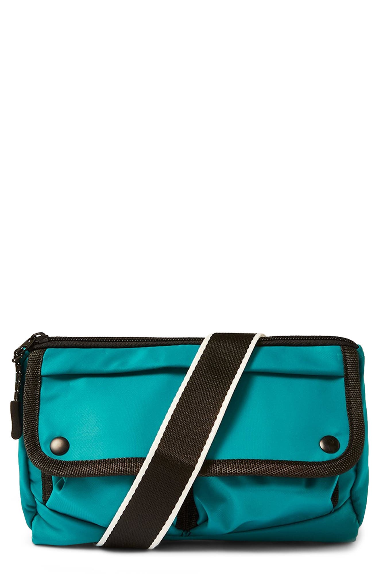 Sabre Crossbody Belt Bag,                         Main,                         color, DARK BLUE