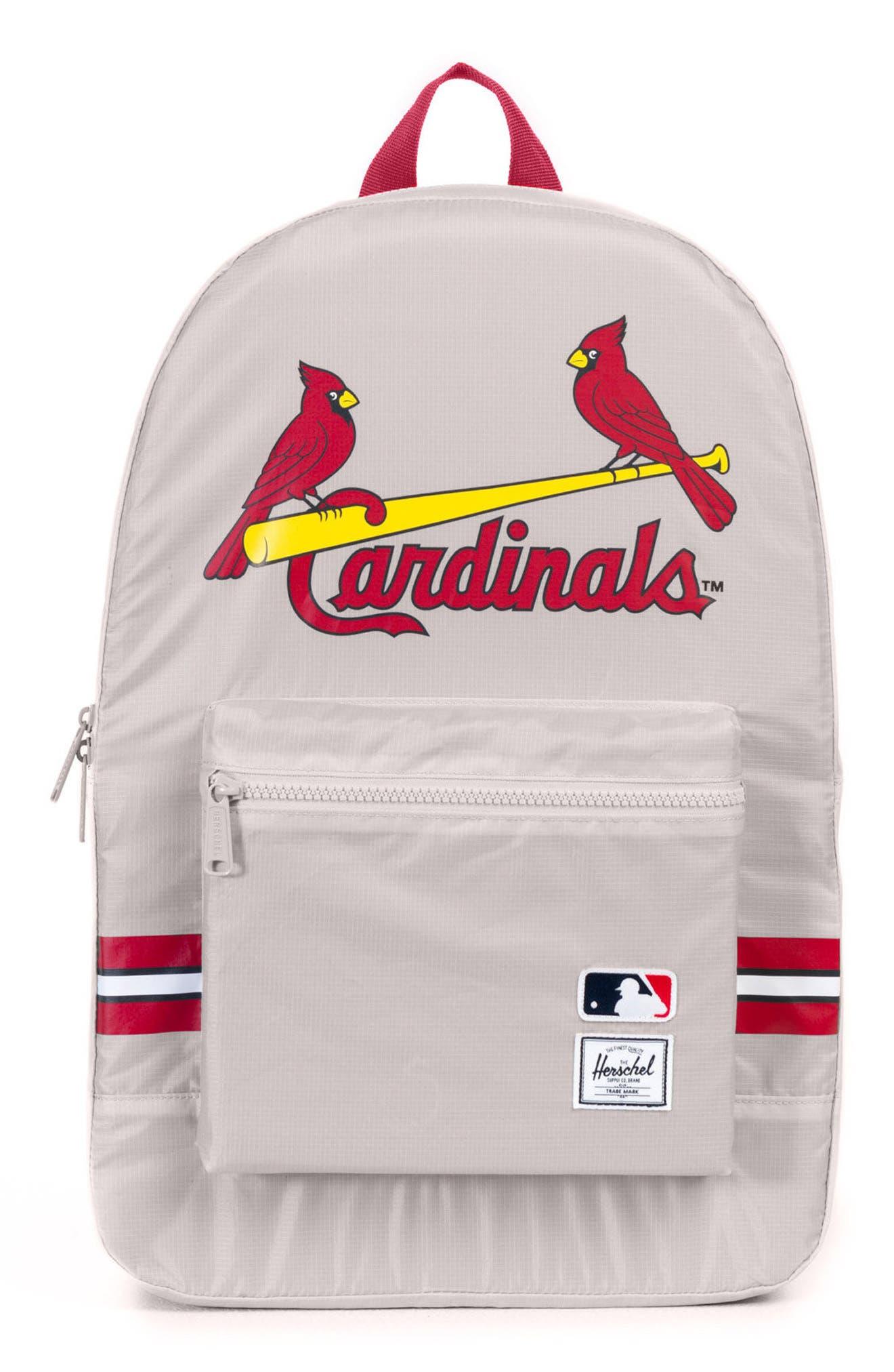 Packable - MLB National League Backpack,                             Main thumbnail 1, color,                             ST LOUIS CARDINALS