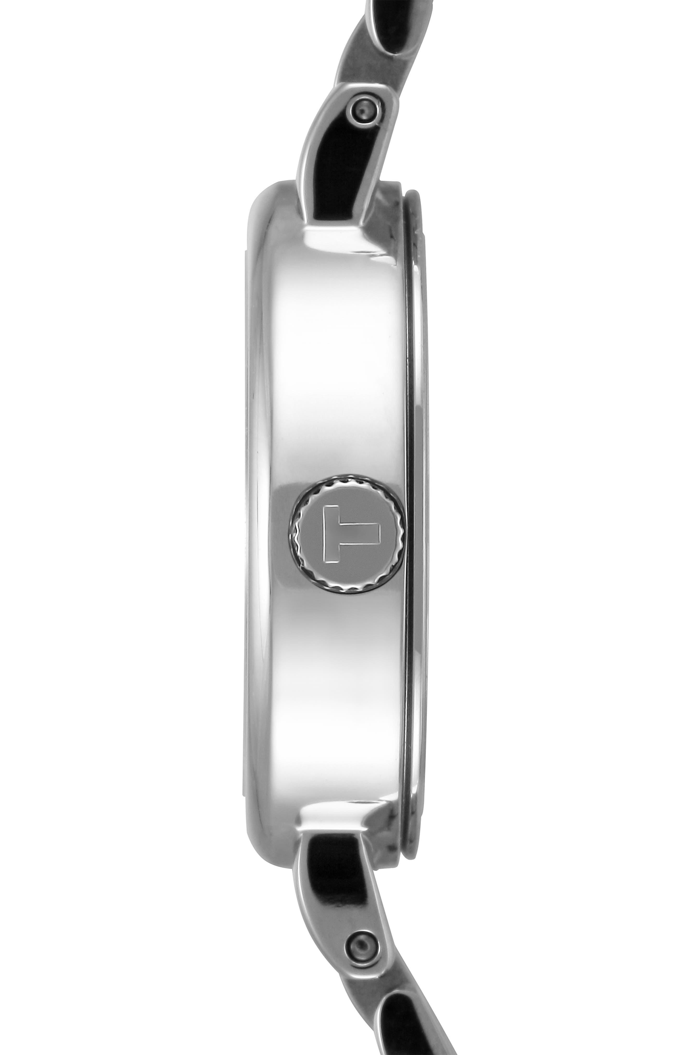 Lovely Bracelet Watch, 19mm,                             Alternate thumbnail 4, color,                             SILVER
