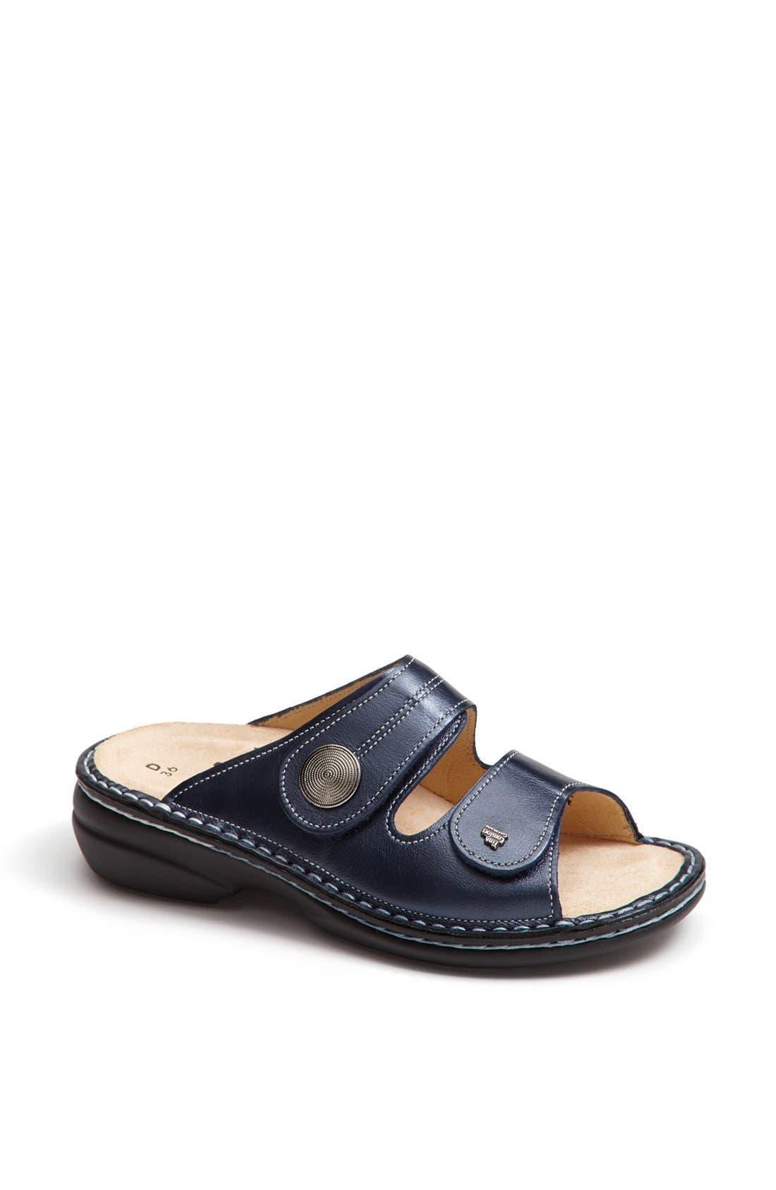 'Sansibar' Sandal,                             Main thumbnail 1, color,                             MARINE