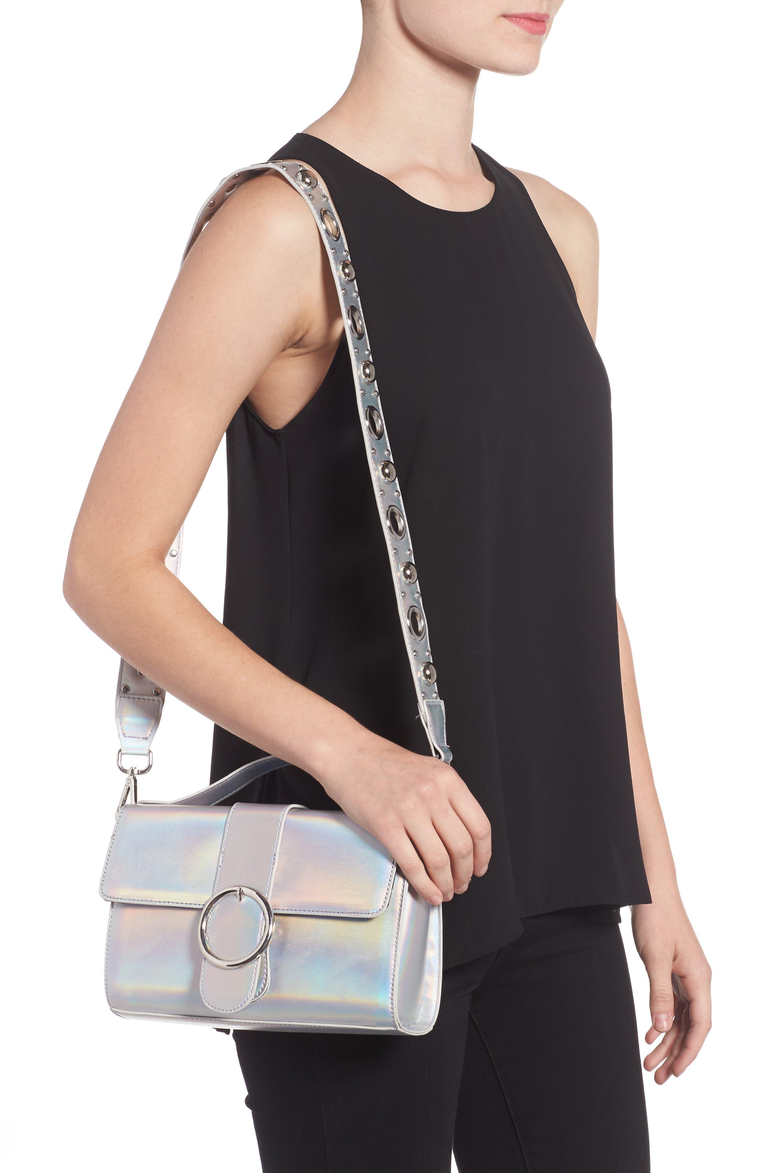 Studded Strap Crossbody Bag,                             Alternate thumbnail 2, color,                             040