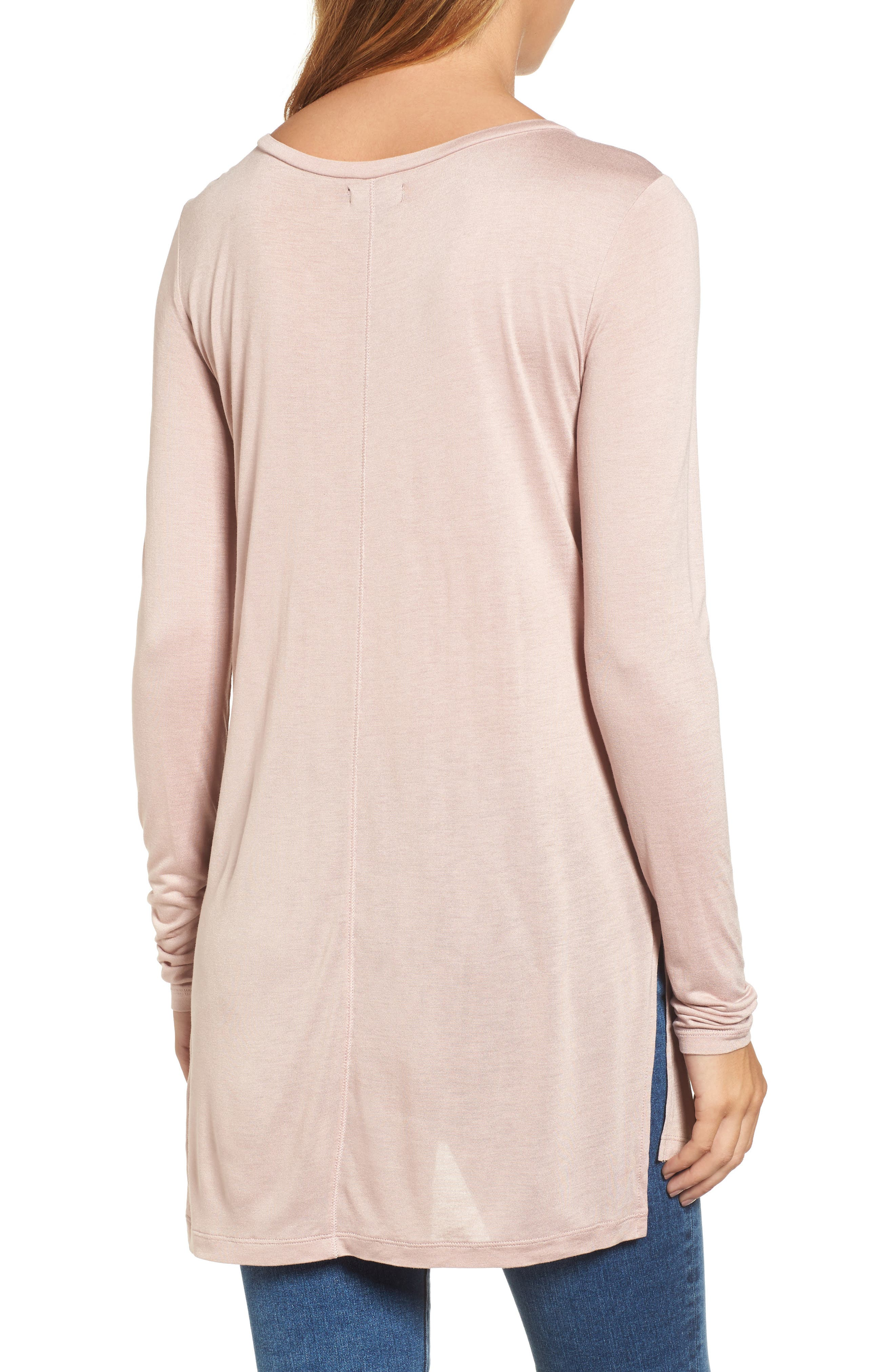 Long Sleeve Lightweight Tunic,                             Alternate thumbnail 12, color,