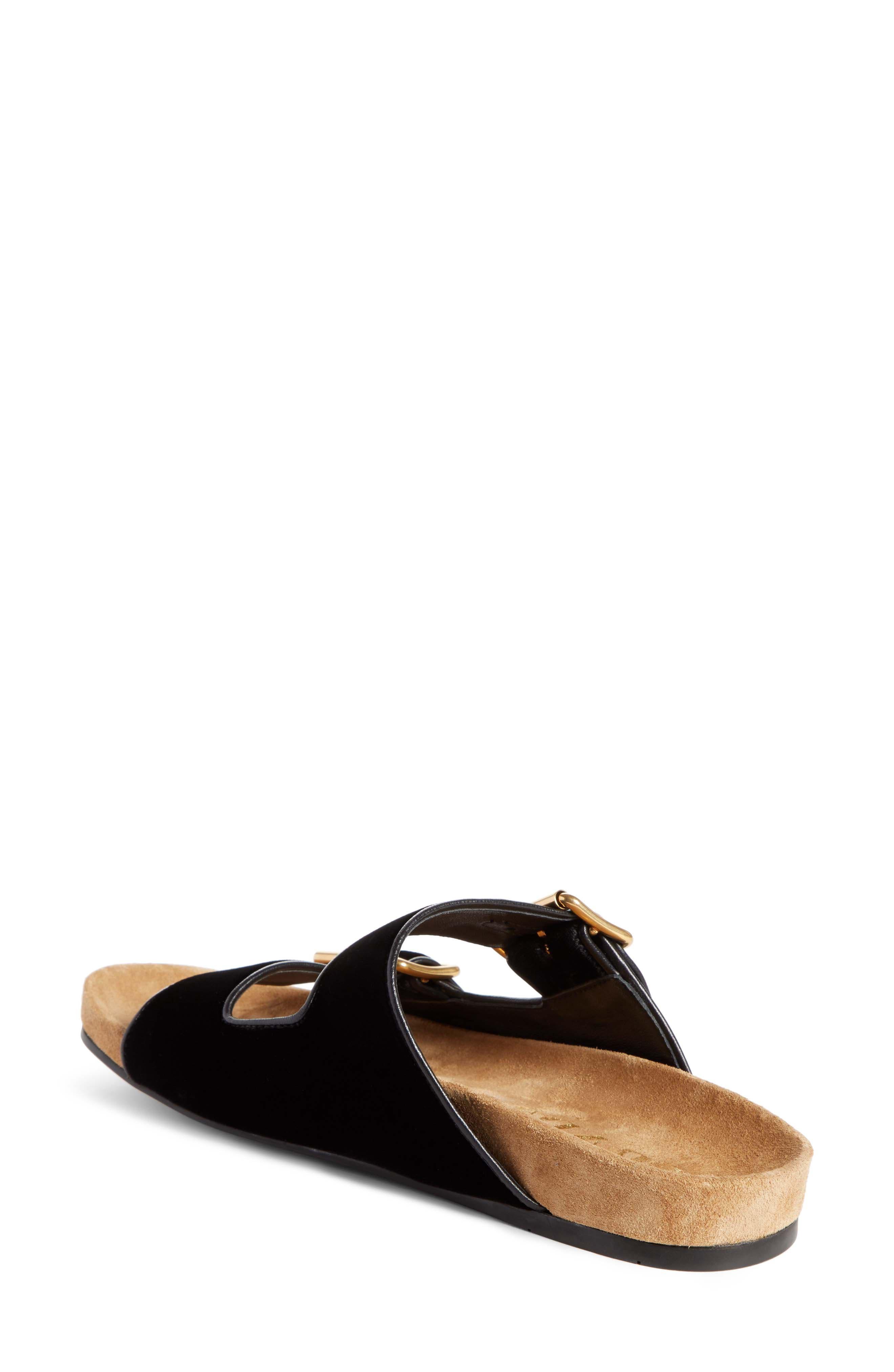 PRADA,                             Slide Sandal,                             Alternate thumbnail 2, color,                             001