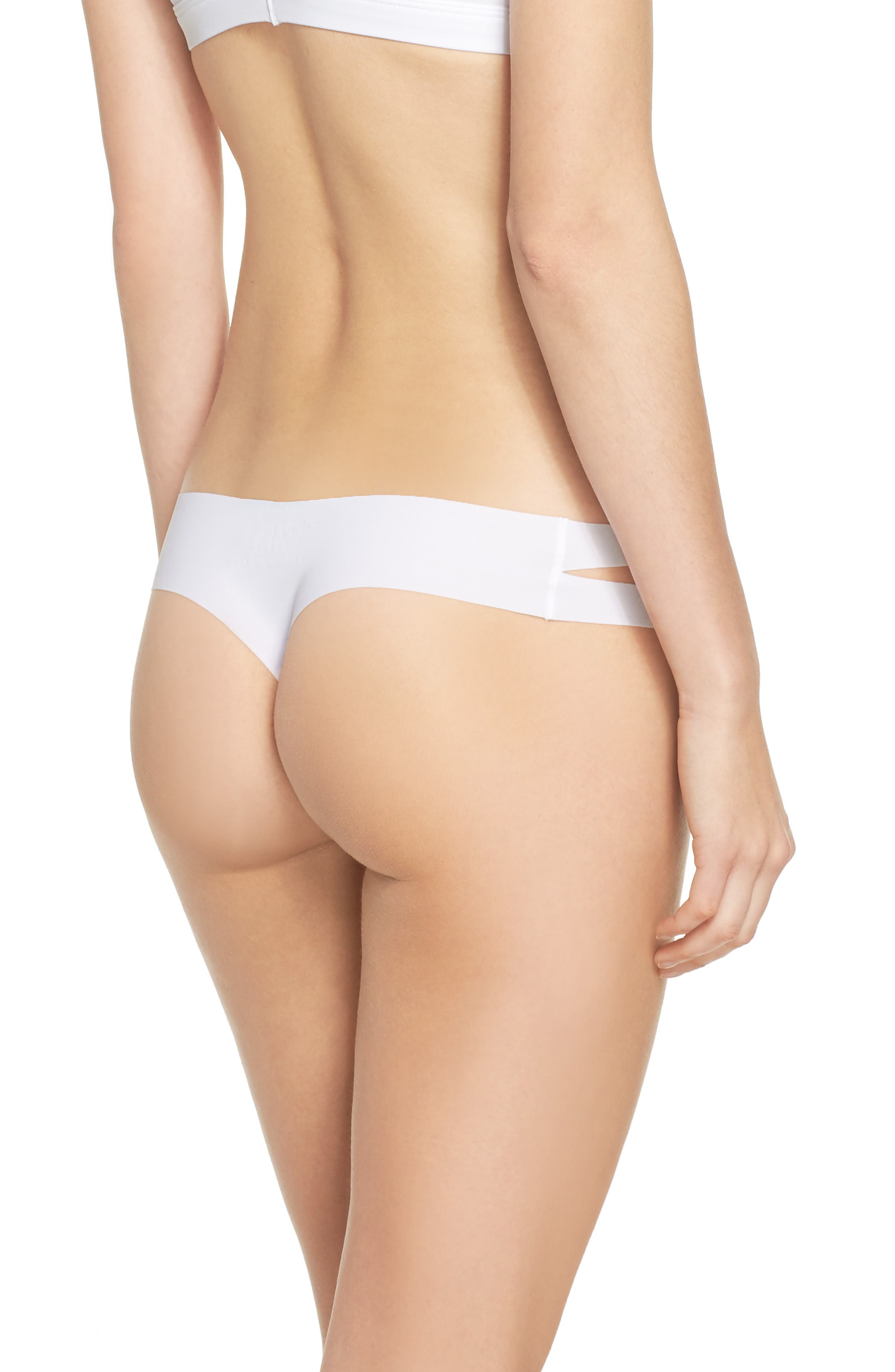 Strappy Sides Thong,                             Alternate thumbnail 5, color,