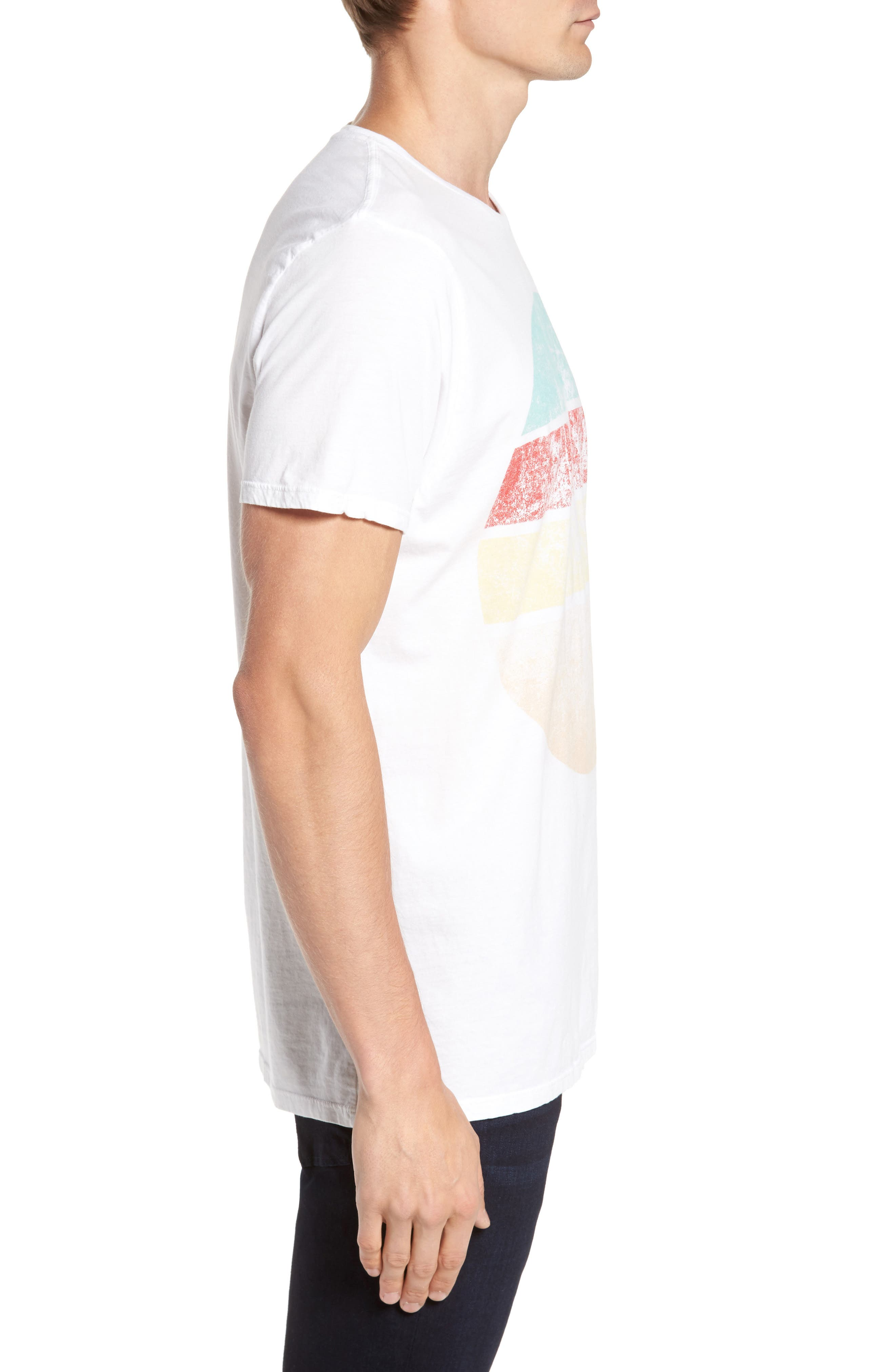Western Sun T-Shirt,                             Alternate thumbnail 3, color,                             100