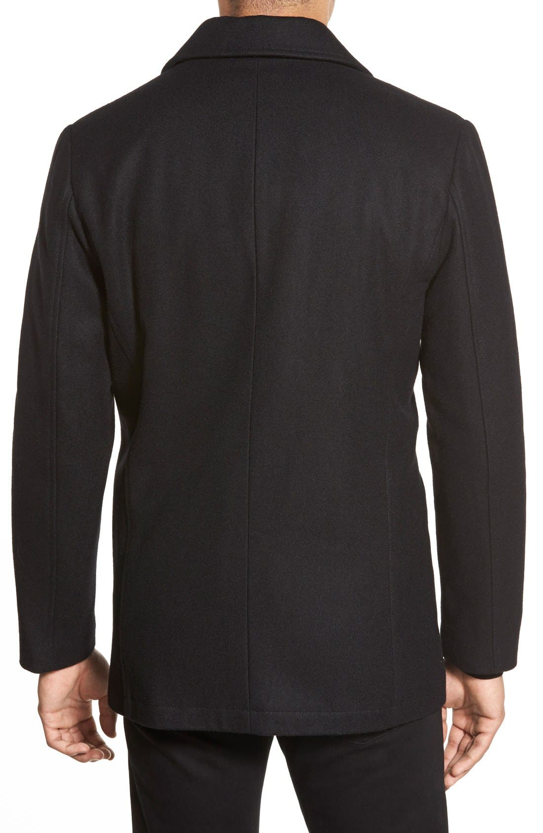 Classic Peacoat,                             Alternate thumbnail 2, color,                             BLACK