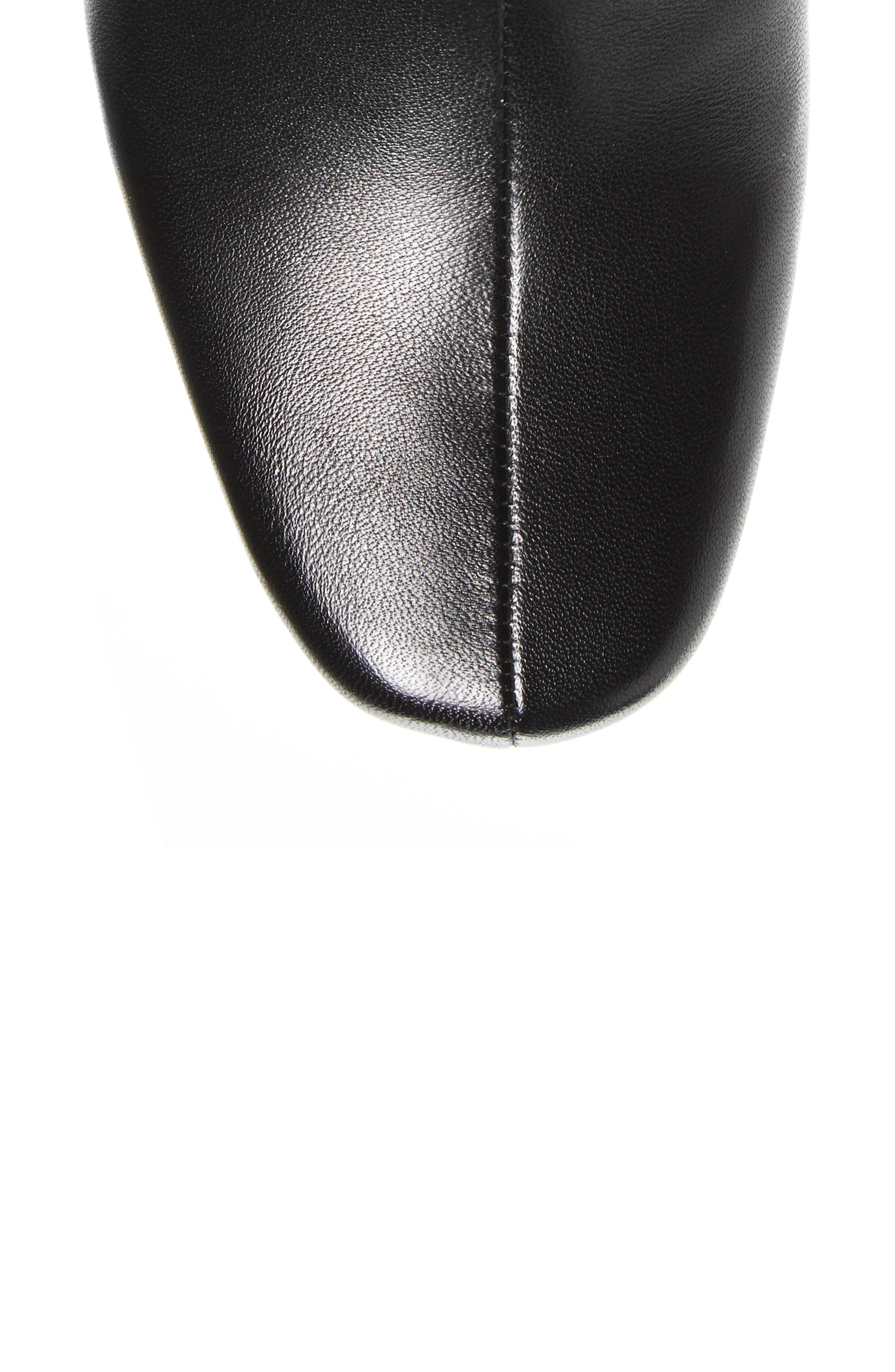 Tacoma 18 Tall Boot,                             Alternate thumbnail 5, color,                             BLACK LEATHER