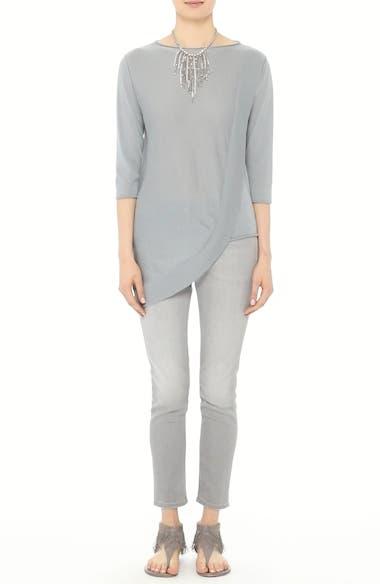 Cashmere & Silk Drape Sweater, video thumbnail