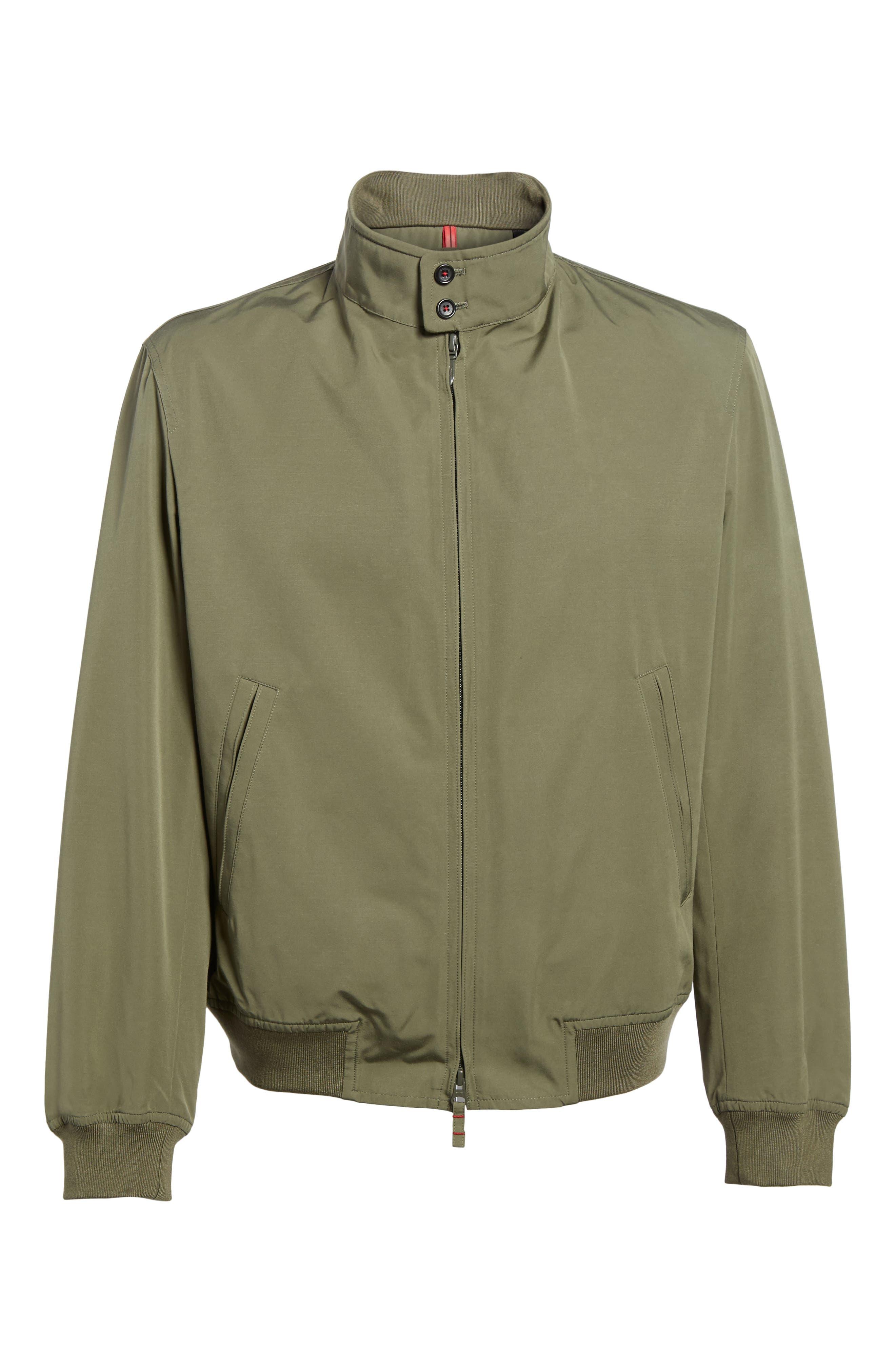 Water-Repellent Zip Front Jacket,                             Alternate thumbnail 5, color,                             374