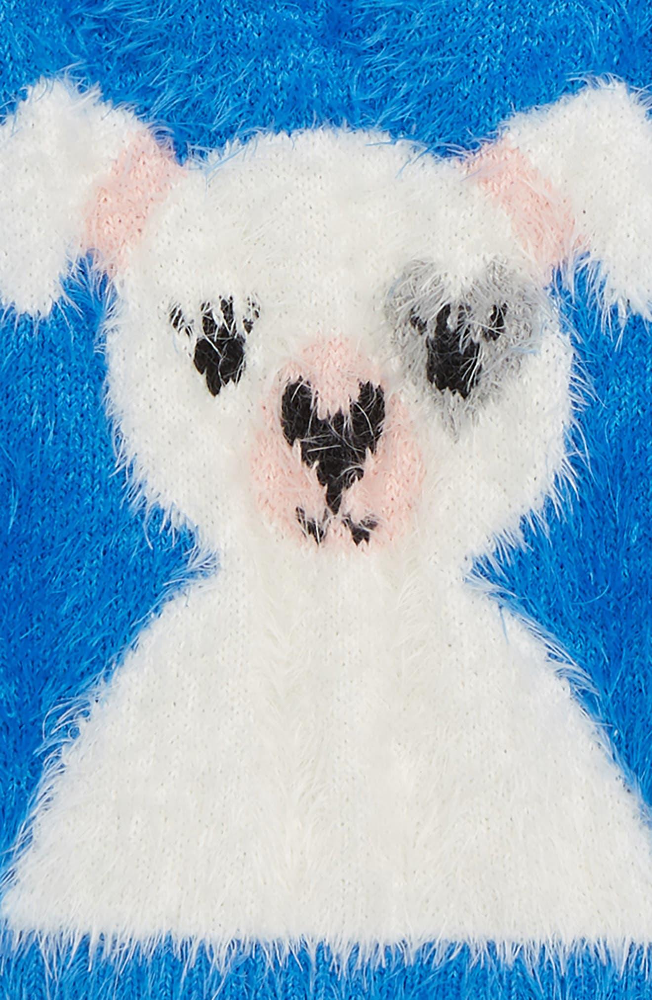 Icon Eyelash Sweater,                             Alternate thumbnail 2, color,                             BLUE CAMP FRENCHIE