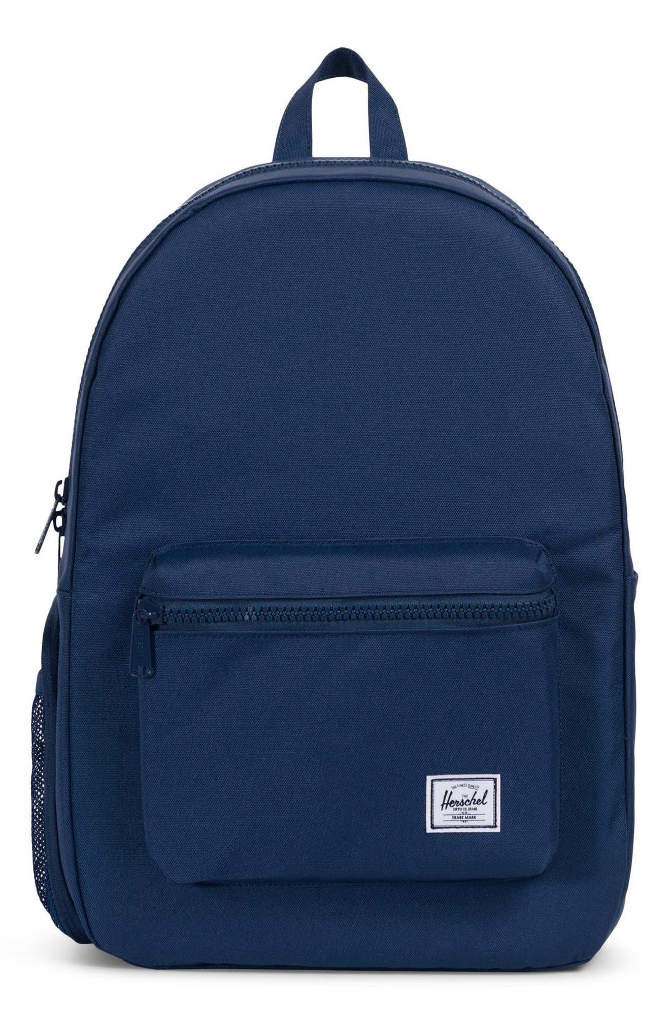 Infant Herschel Supply Co Settlement Sprout Diaper Backpack  Blue