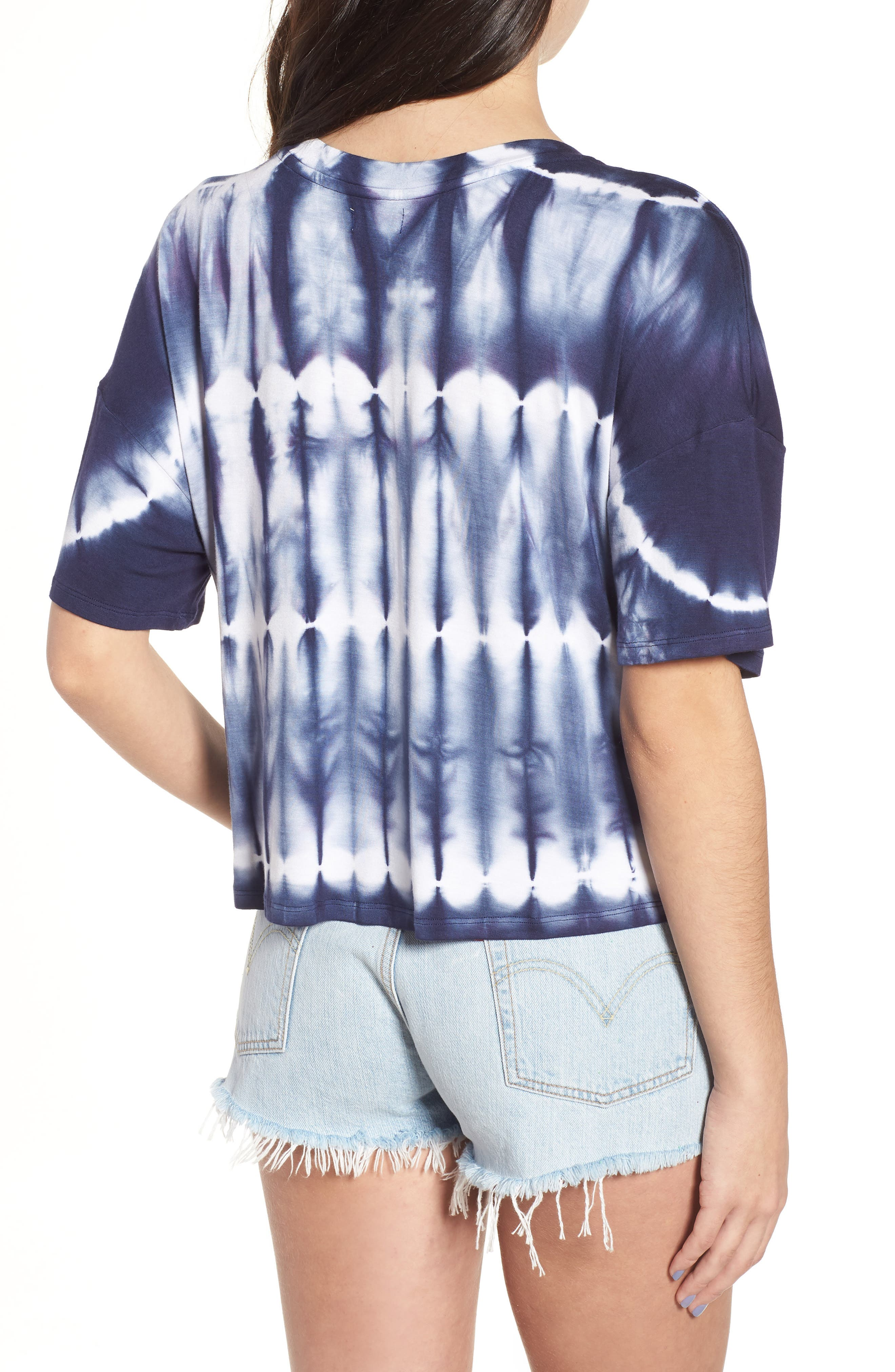 Tie Dye Tee,                             Alternate thumbnail 3, color,