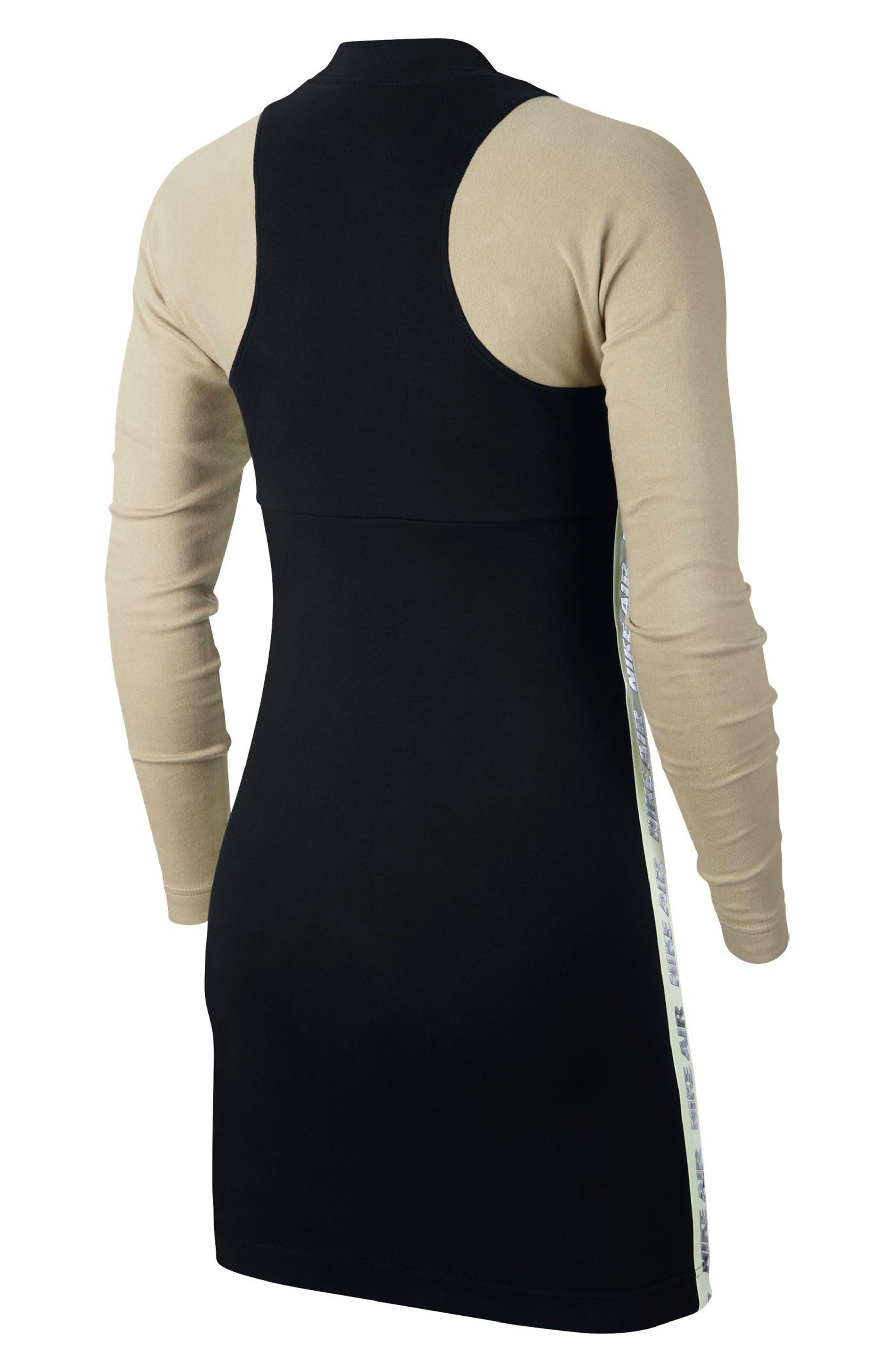Sportswear Body-Con Jersey Dress,                             Alternate thumbnail 2, color,                             010