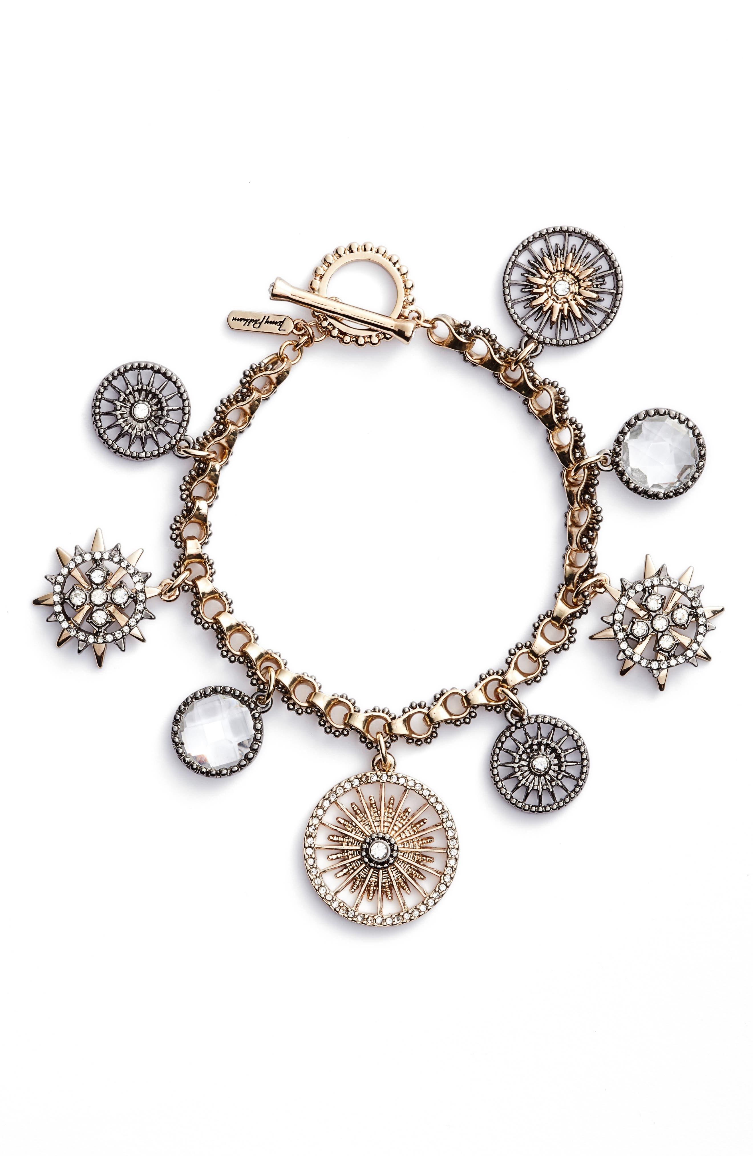 Charm Bracelet,                             Main thumbnail 1, color,                             710