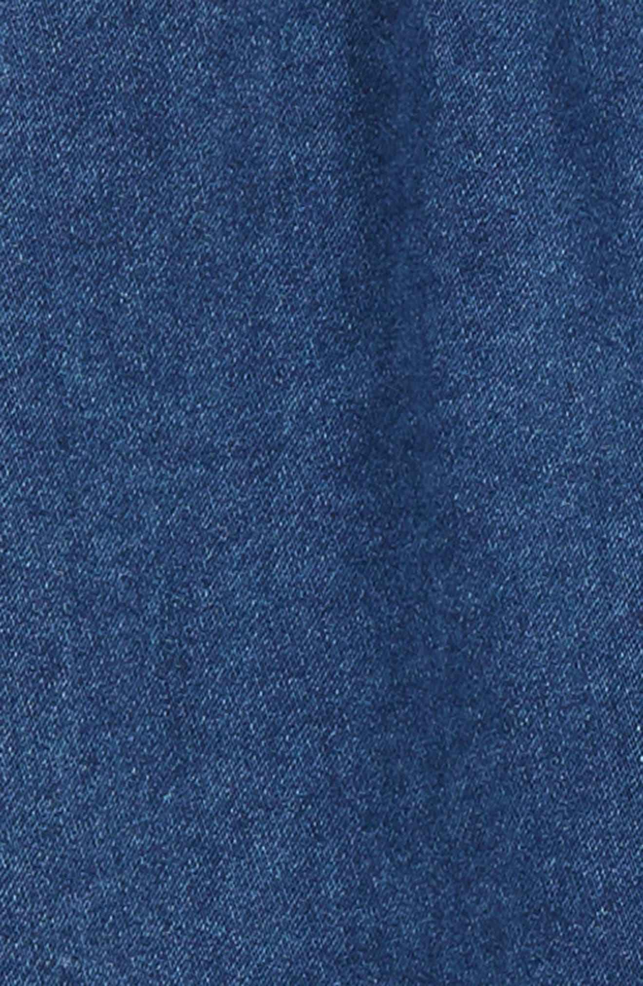 Basic Denim Pants,                             Alternate thumbnail 2, color,                             DENIM