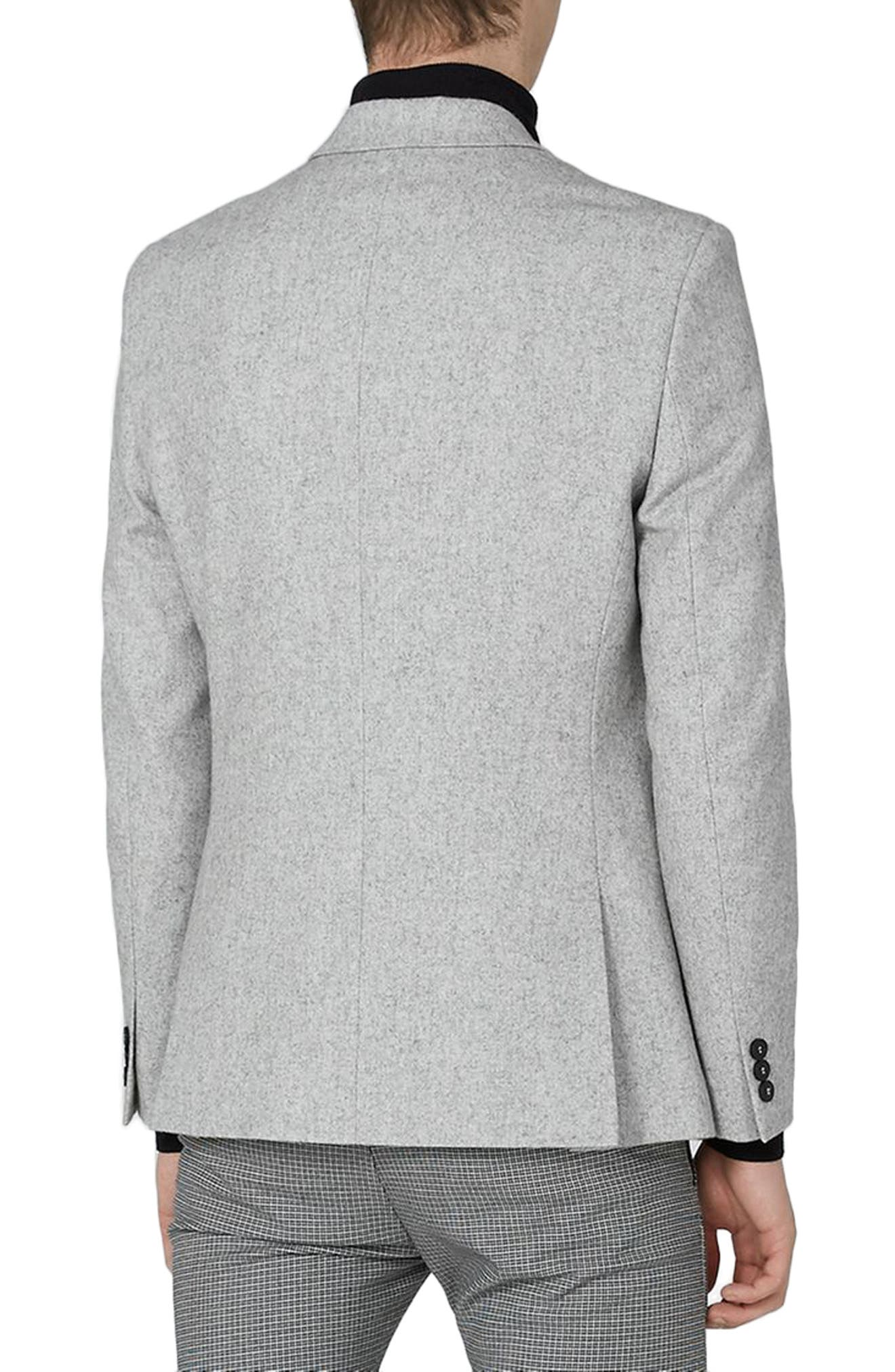 Murdoch One-Button Jacket,                             Alternate thumbnail 2, color,                             LIGHT GREY