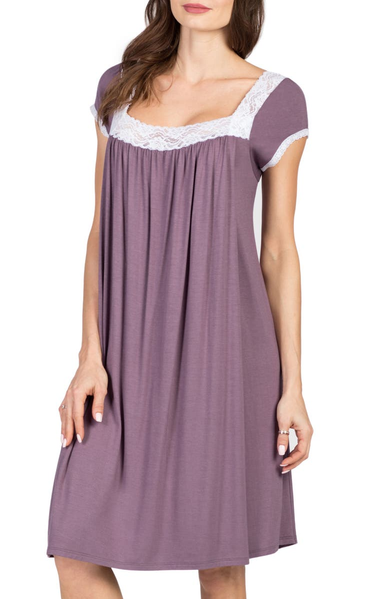 Savi Mom Joliet Maternity/Nursing Nightgown | Nordstrom