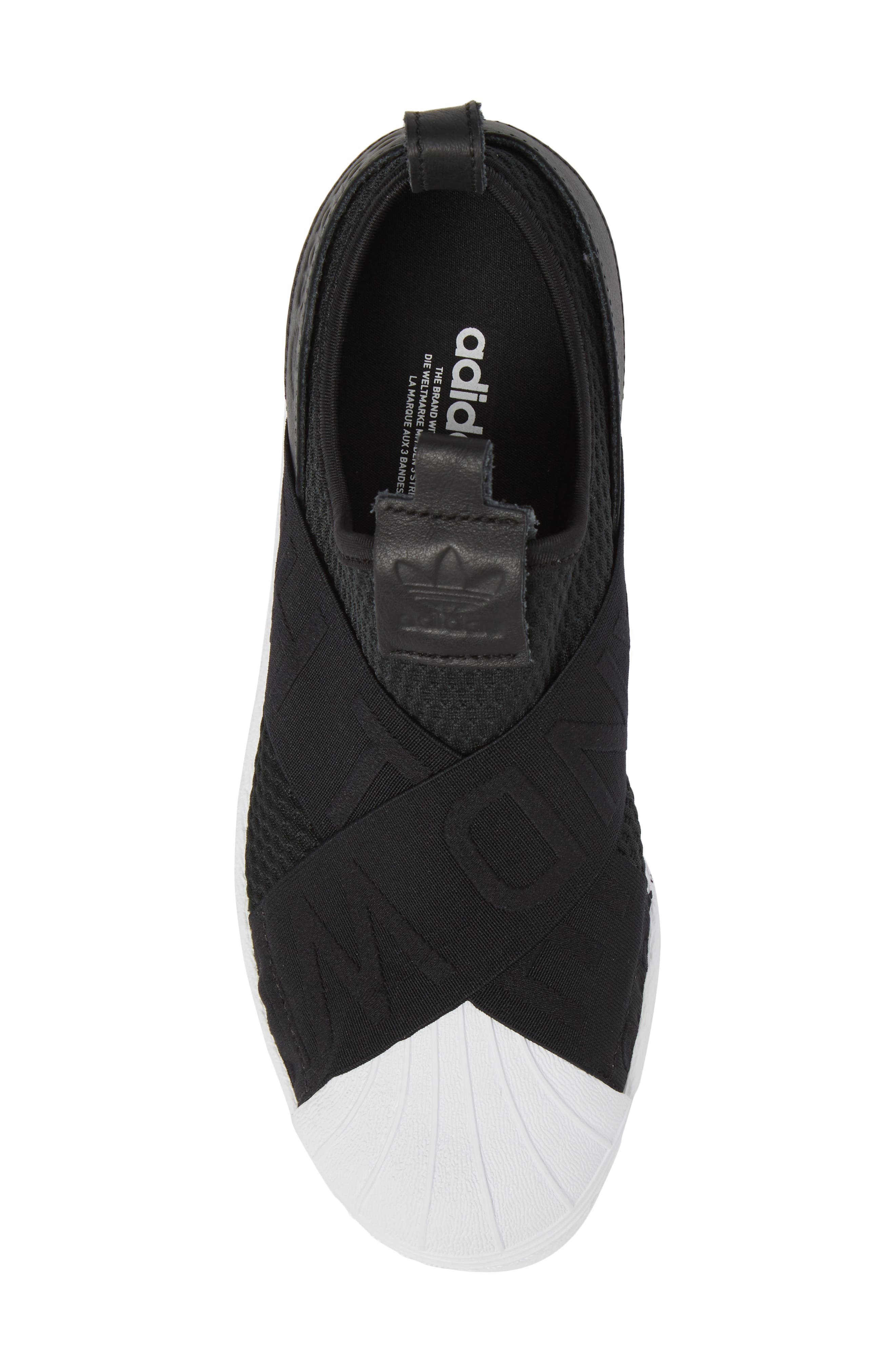 Superstar Slip-On Sneaker,                             Alternate thumbnail 5, color,                             003